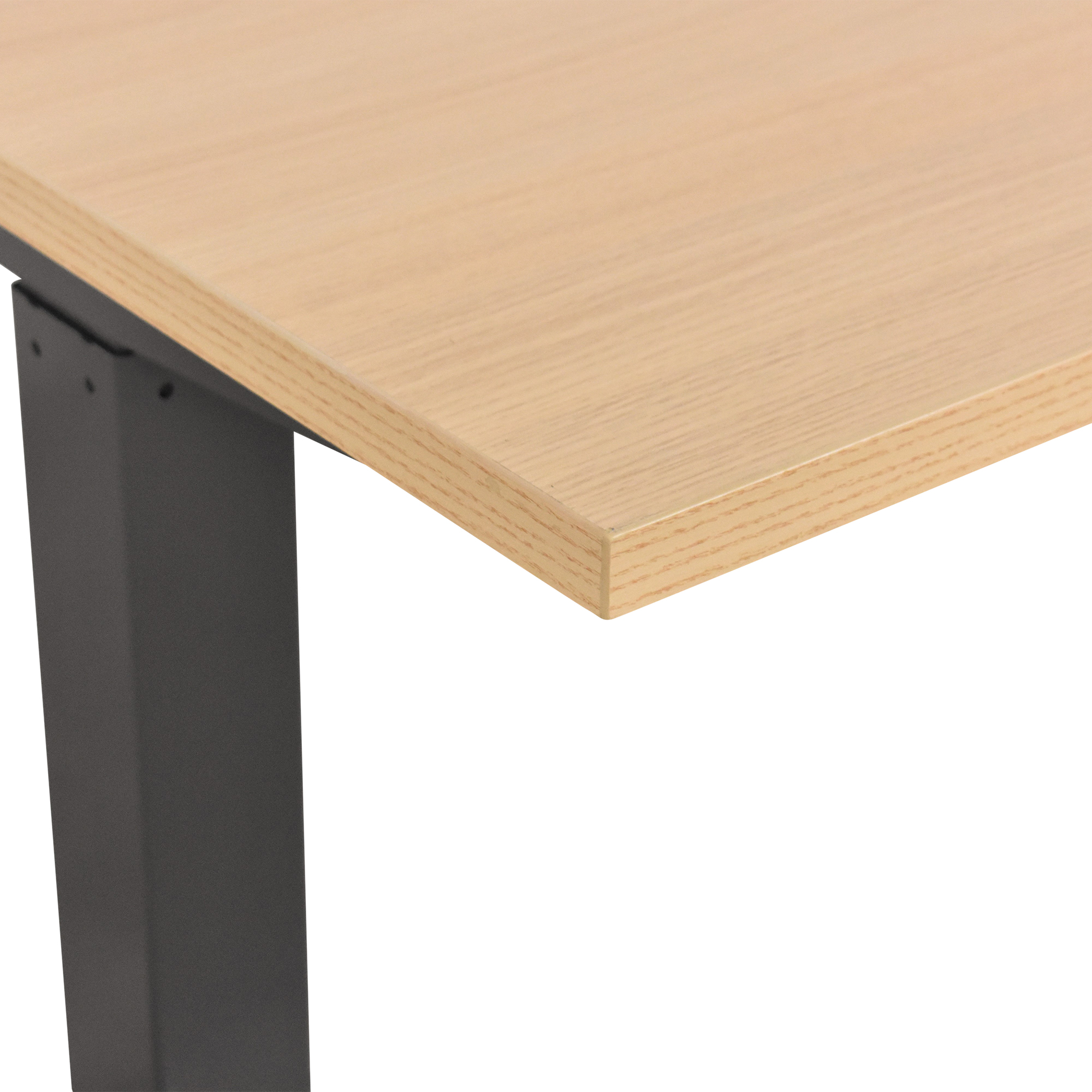Poppin Poppin Series L Adjustable Height Desk ct