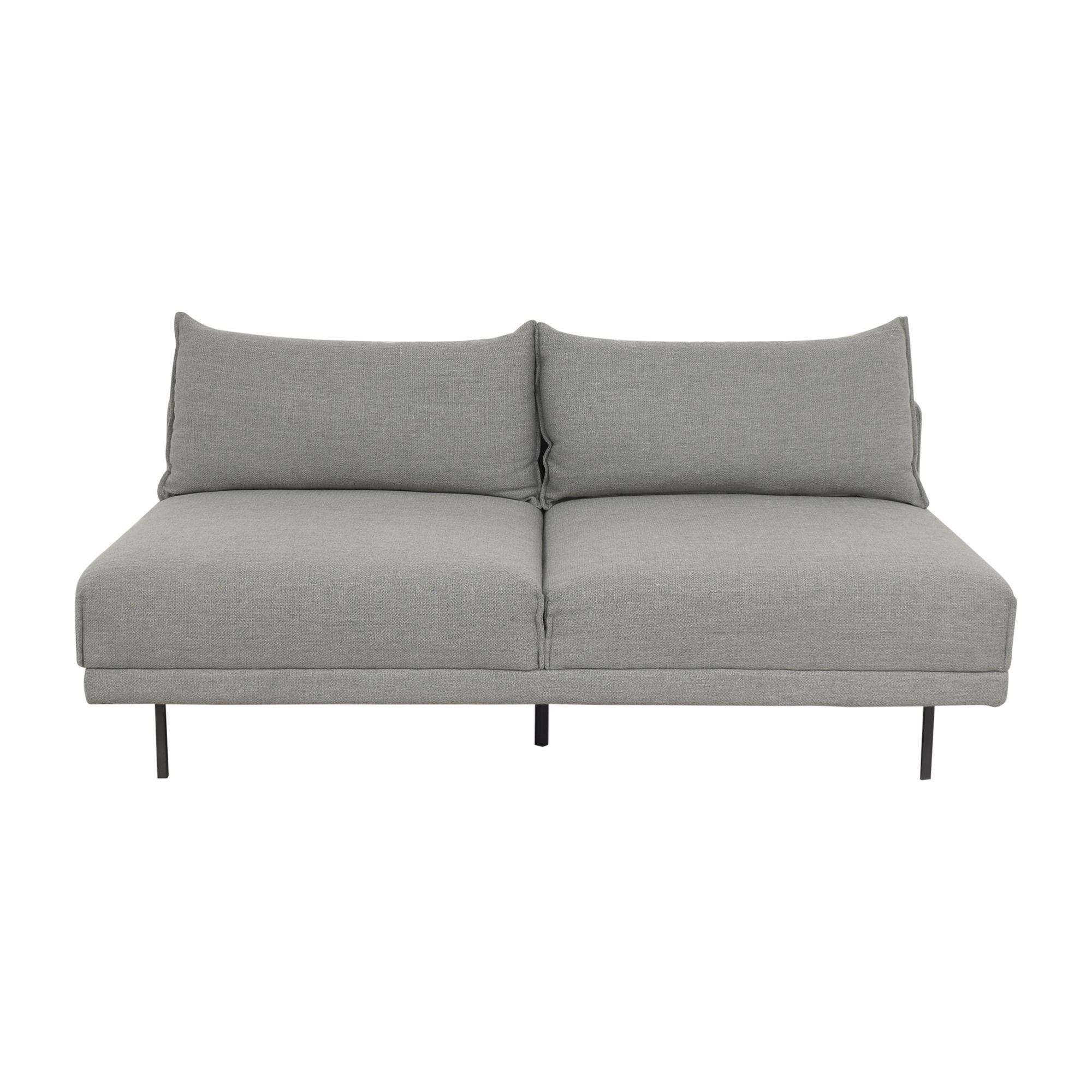 West Elm West Elm Halsey Armless Sofa ct