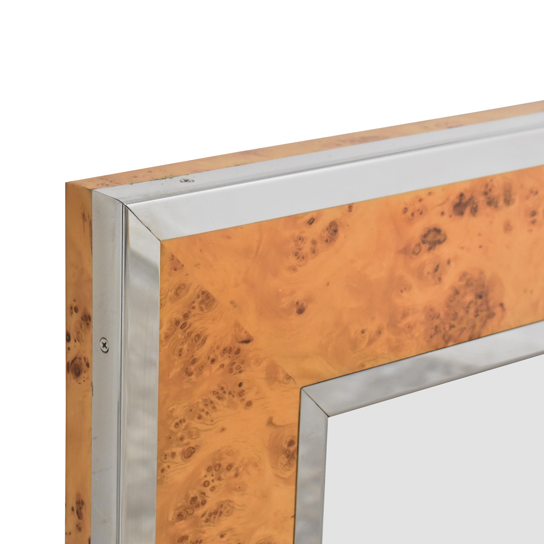 Williams Sonoma Williams Sonoma Fulton Wall Mirror brown & silver