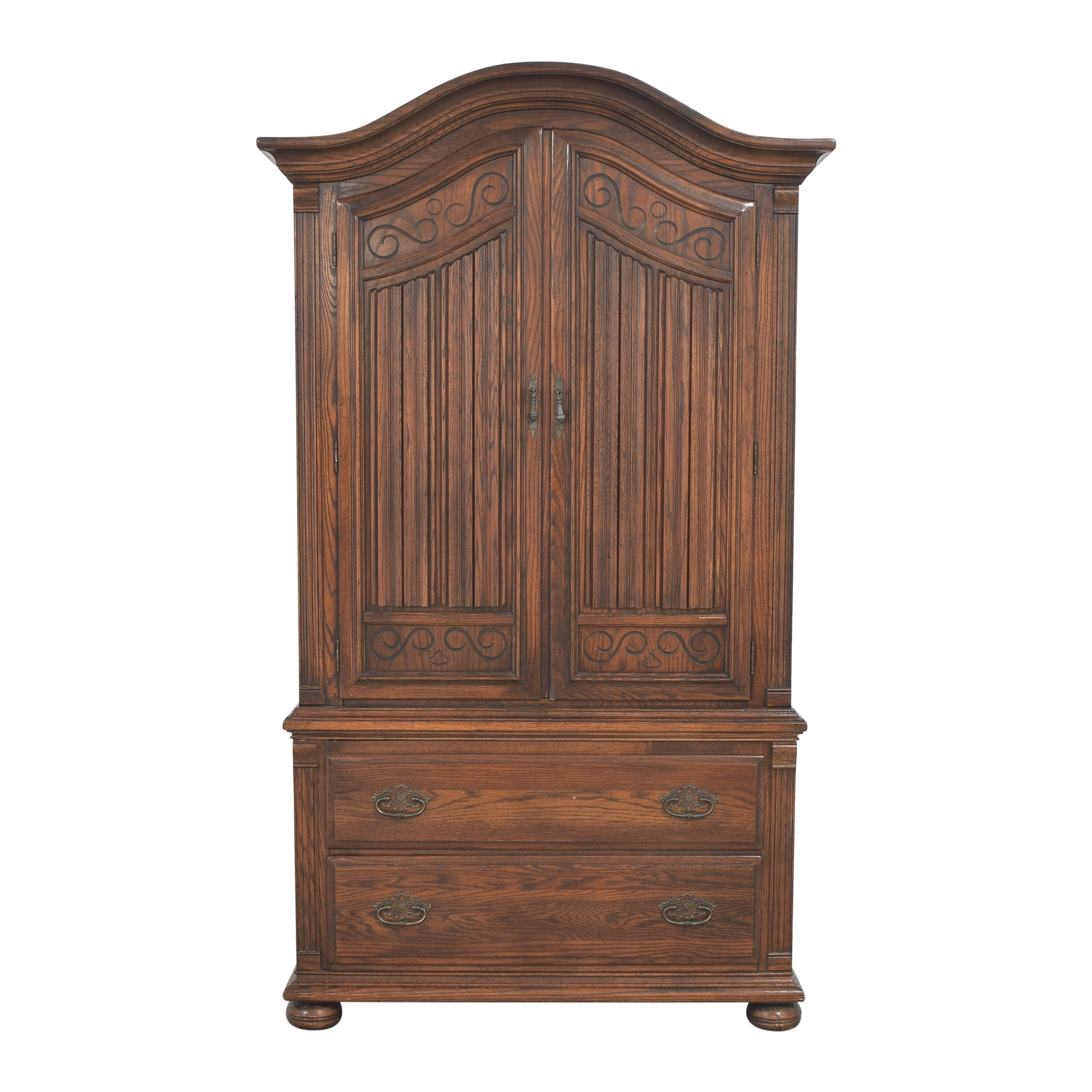 Ethan Allen Ethan Allen Royal Charter Five Drawer Armoire  coupon