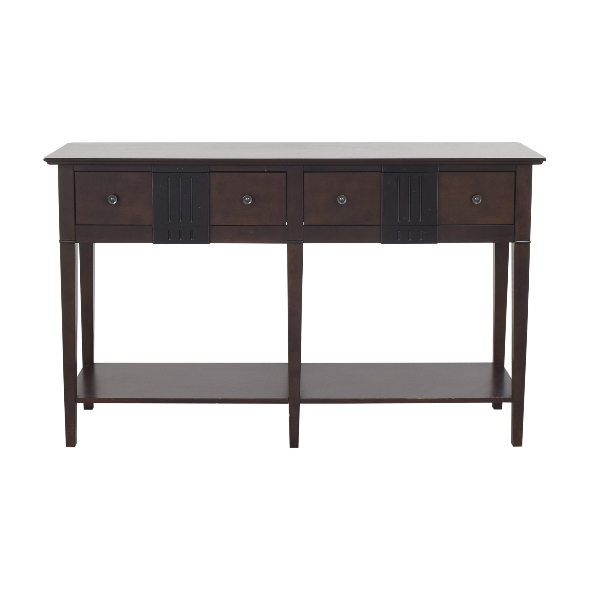 Pier 1 Pier 1 Two Drawer Console Table second hand