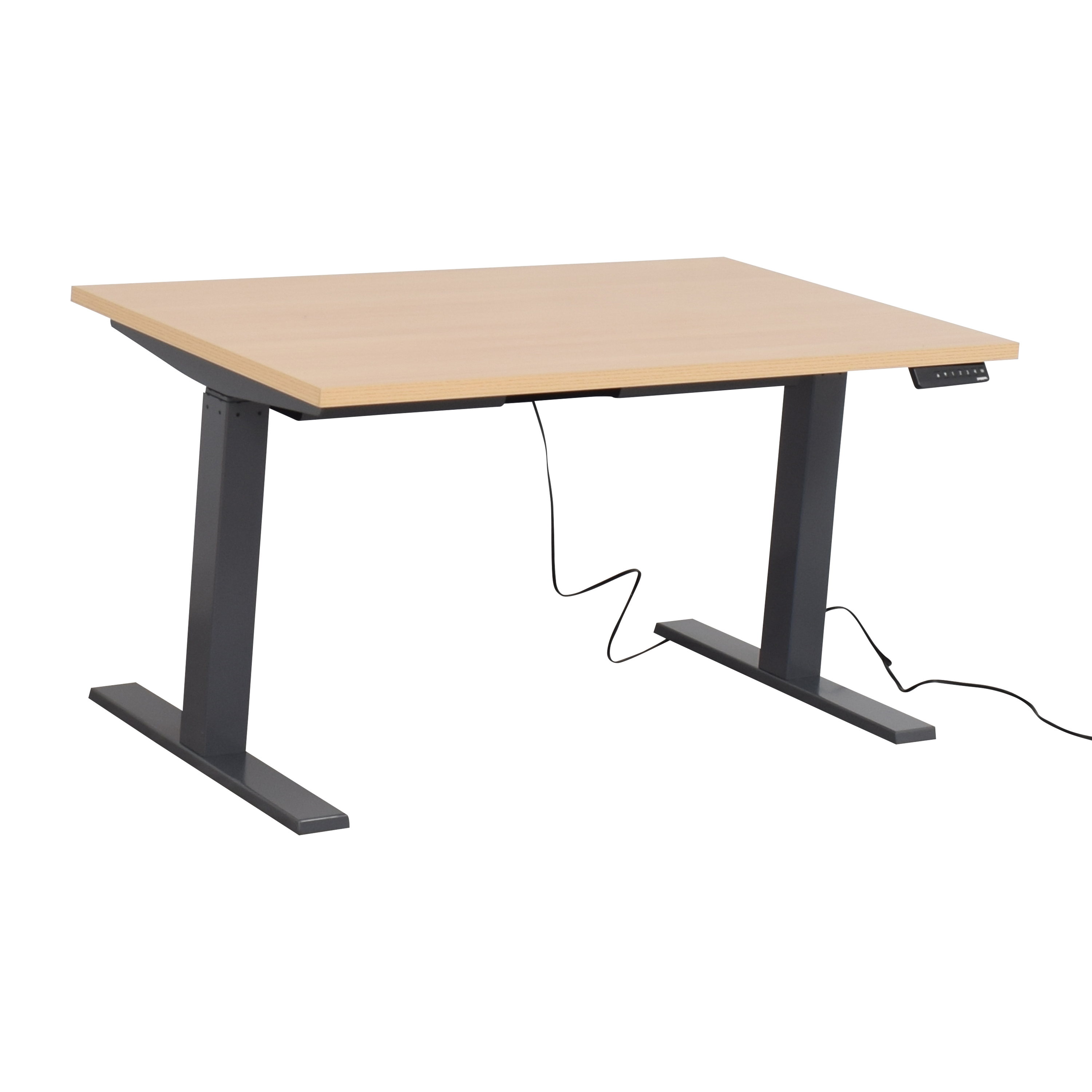 Poppin Poppin Series L Adjustable Height Desk used