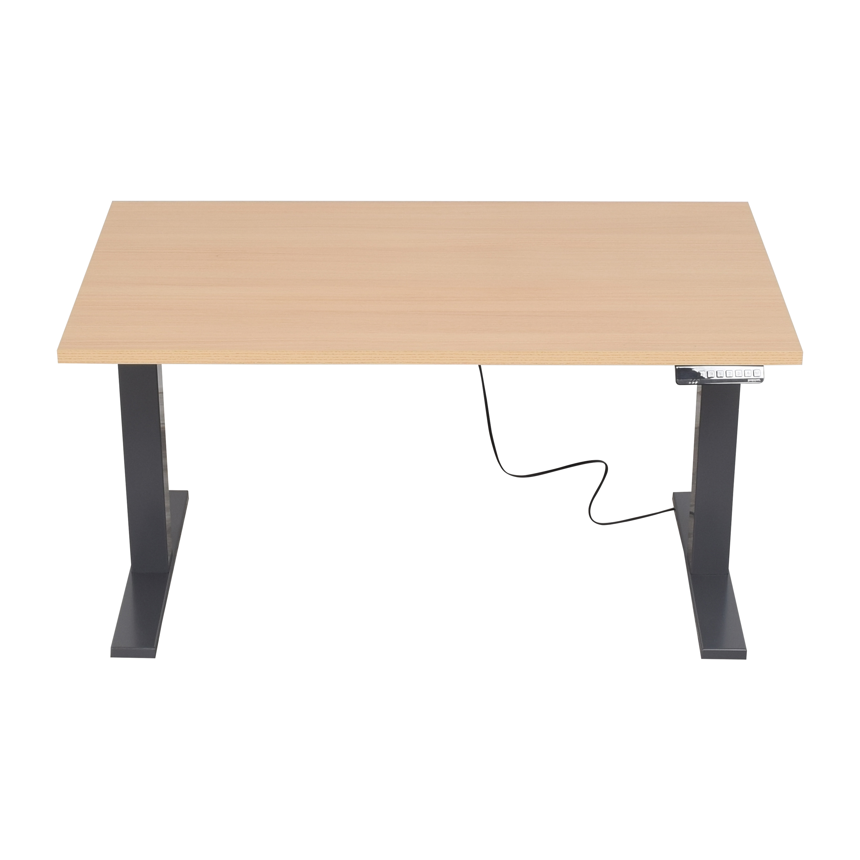 Poppin Poppin Series L Adjustable Height Desk dimensions