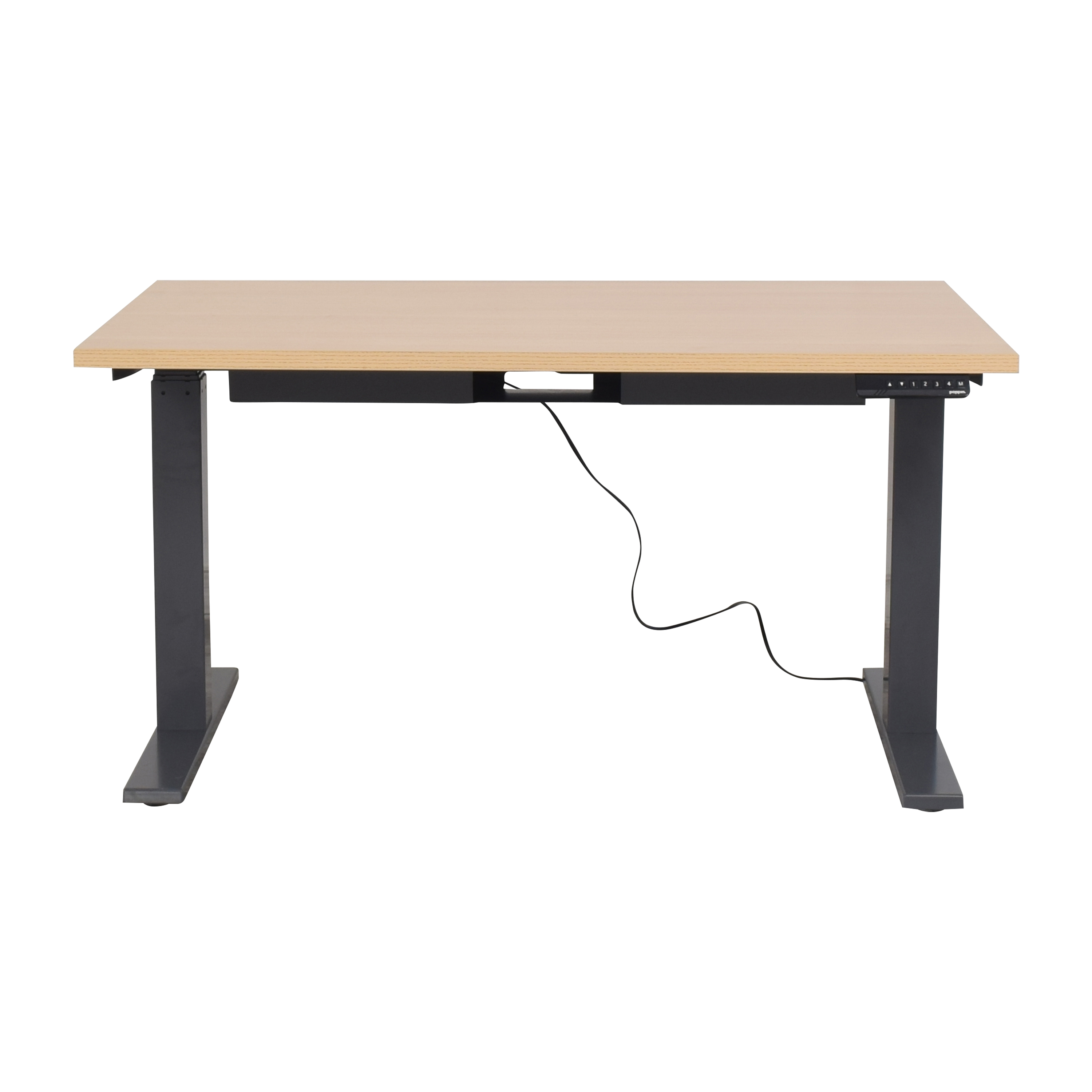 shop Poppin Series L Adjustable Height Desk Poppin