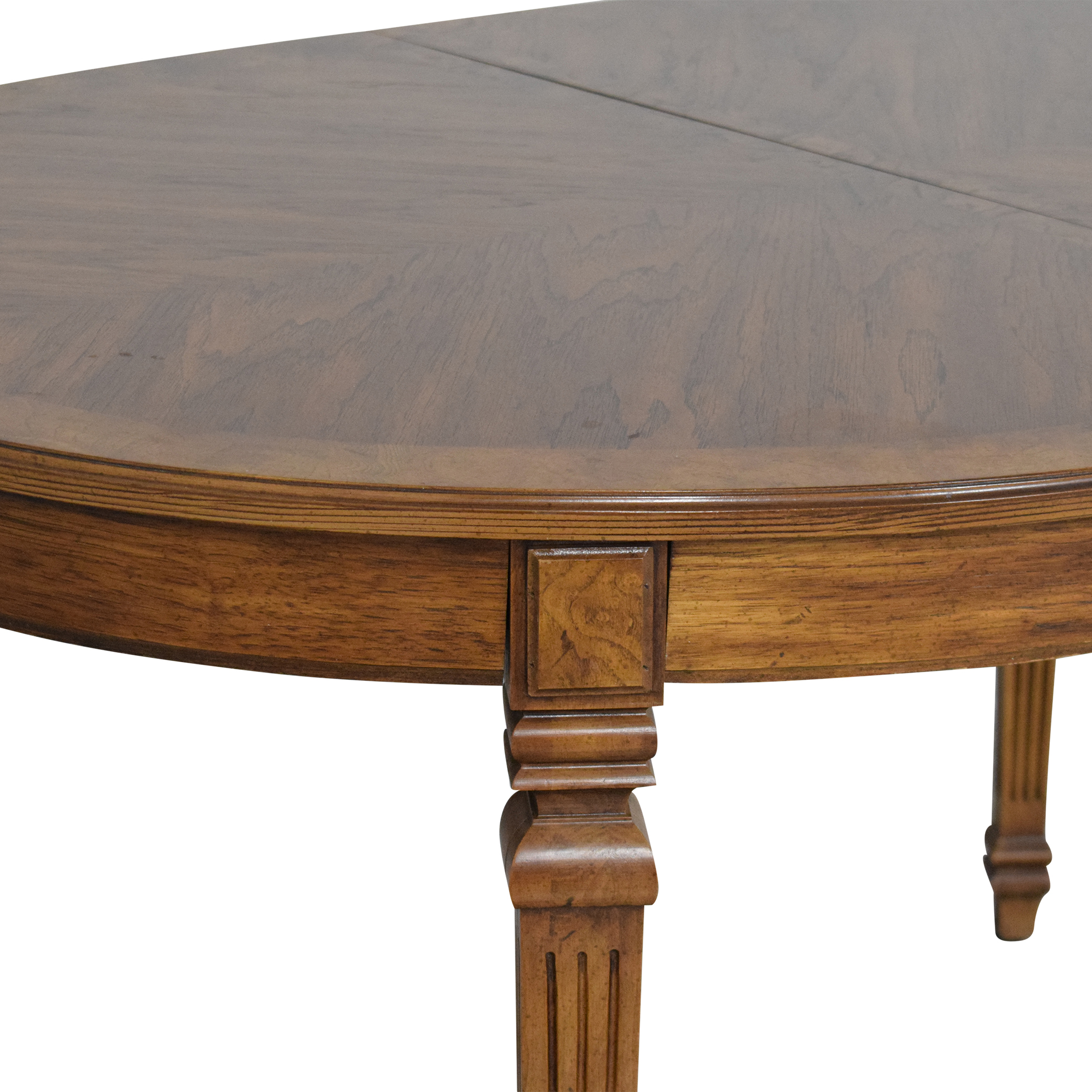 Oval Extendable Dining Table for sale