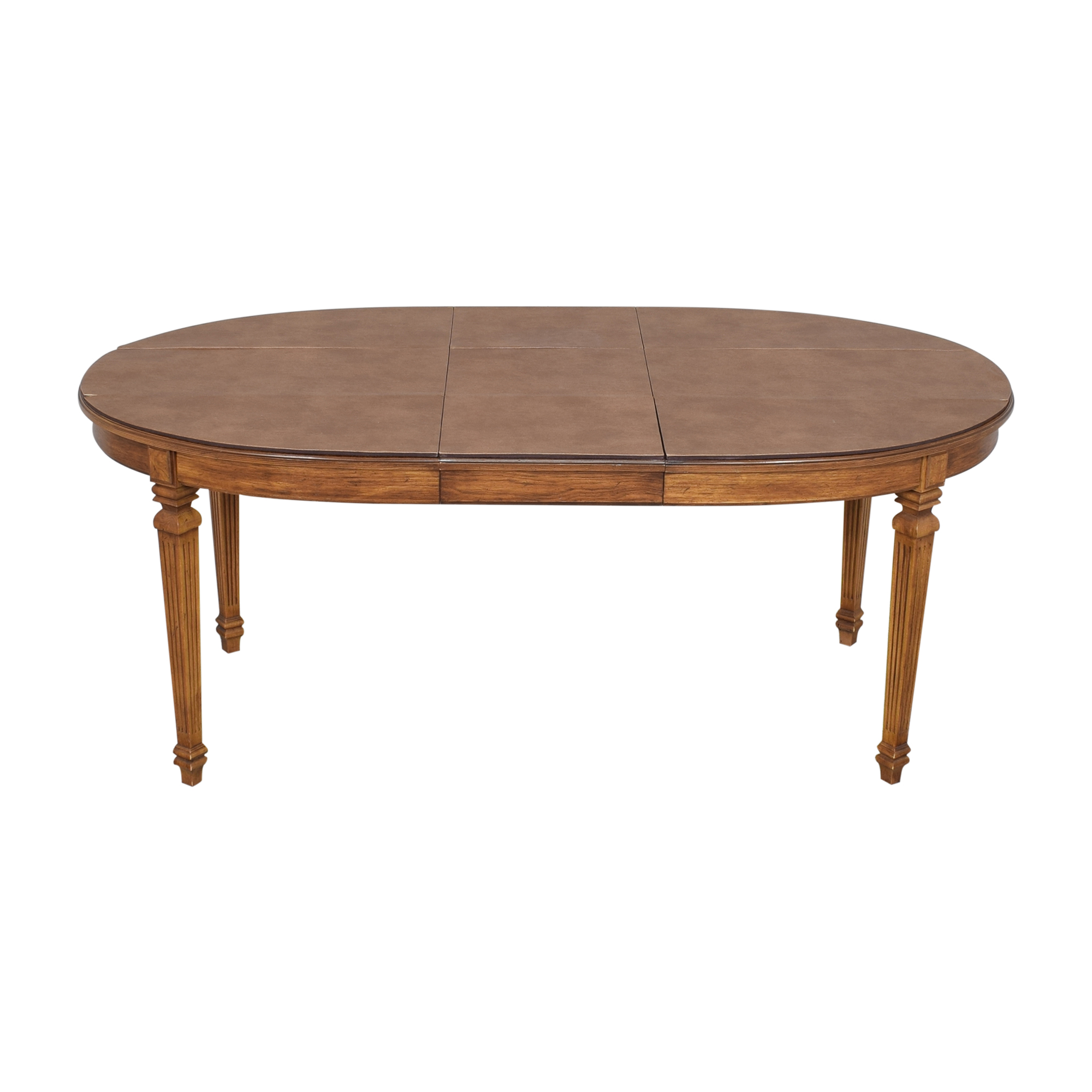 Oval Extendable Dining Table on sale
