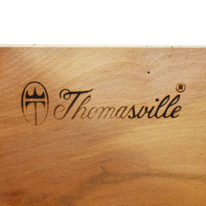shop Thomasville Nine Drawer Triple Dresser Thomasville Dressers