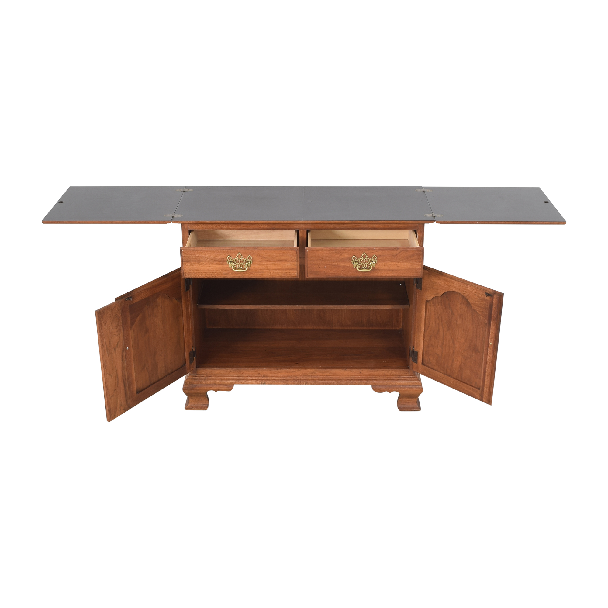 buy Thomasville Fisher Park Fold Out Server Buffet Thomasville Cabinets & Sideboards