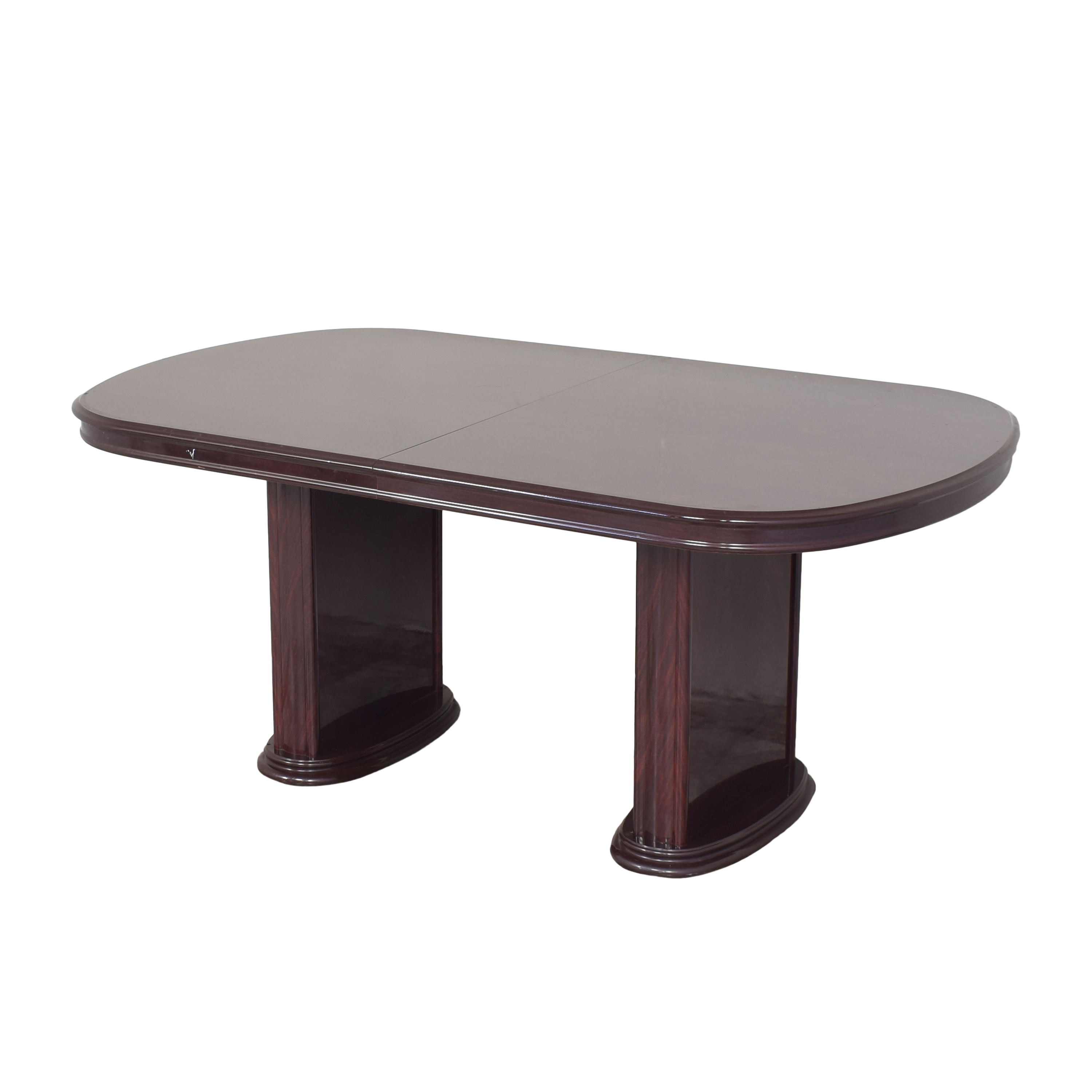 buy Raymour & Flanigan Two Pedestal Dining Table Raymour & Flanigan Tables