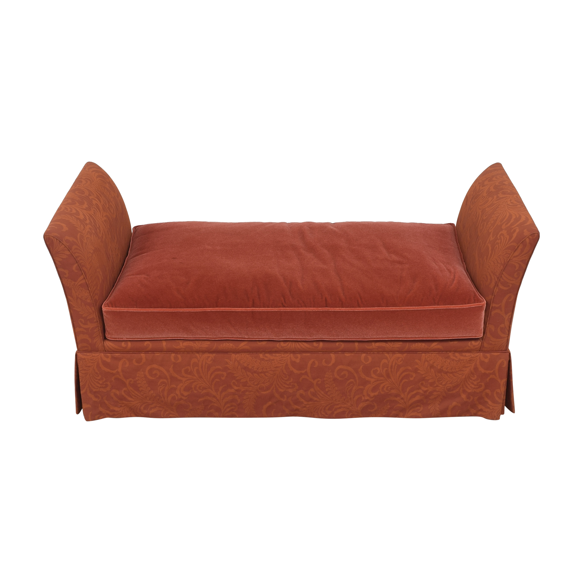 buy Lee Industries Skirted Daybed with Pillows Lee Industries