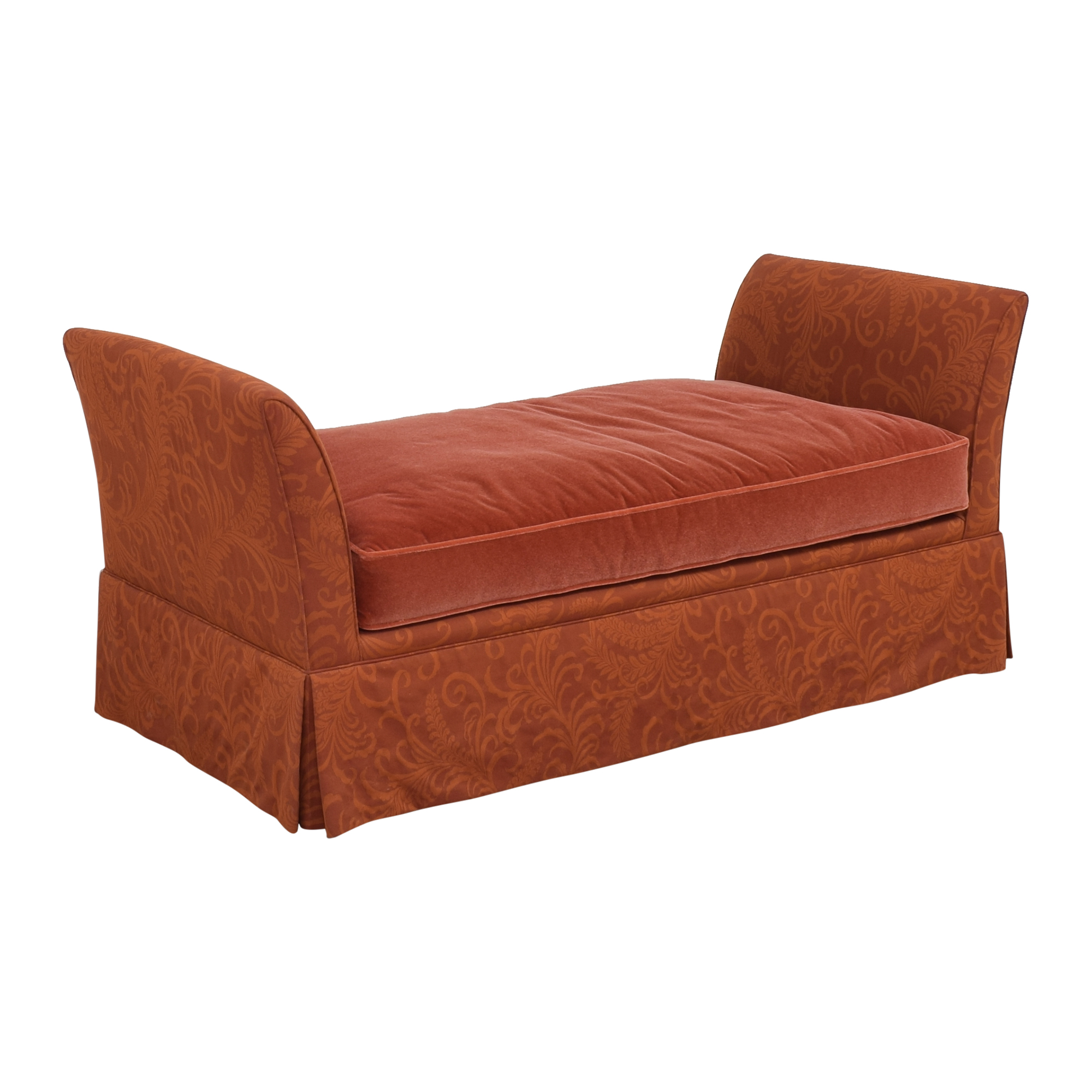 buy Lee Industries Skirted Daybed with Pillows Lee Industries Chaises