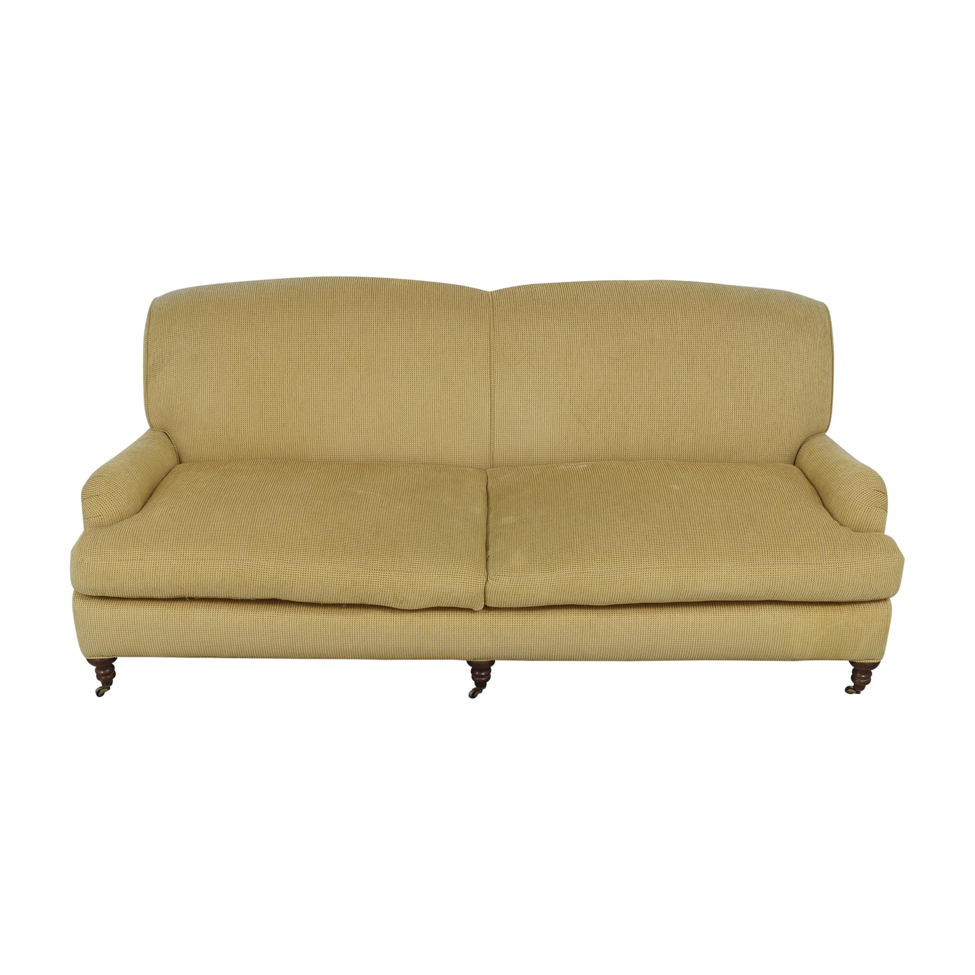 Lee Industries English Roll Arm Sofa / Sofas