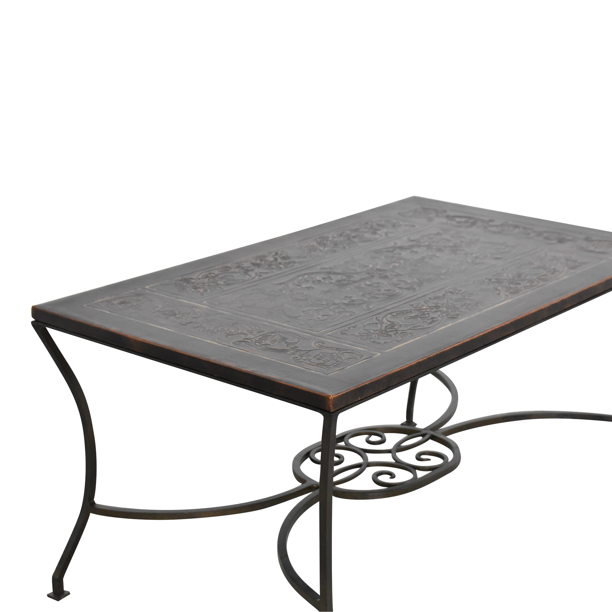 buy  Embossed Inlay Coffee Table online