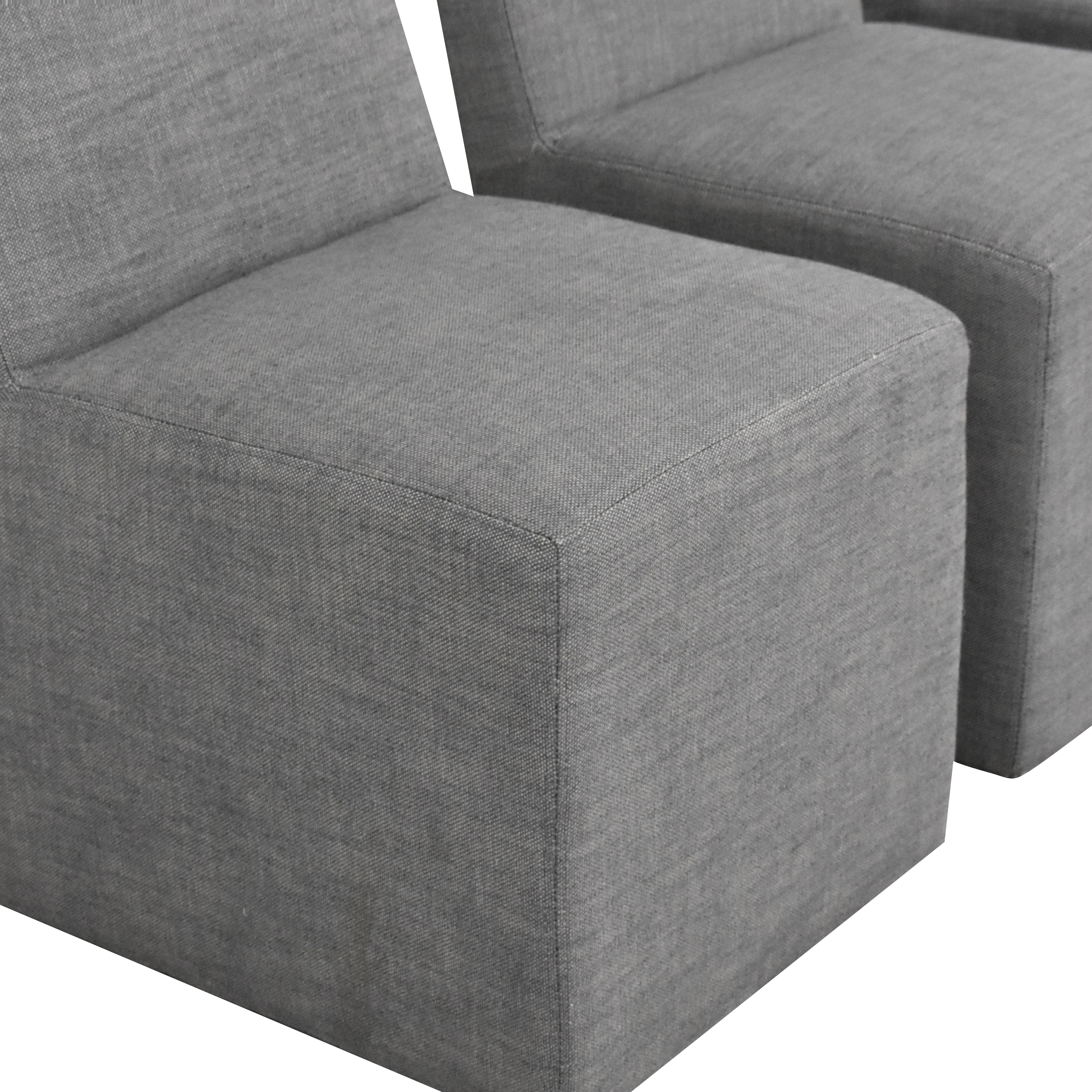 Restoration Hardware Restoration Hardware Ellison Fabric Side Chairs Chairs