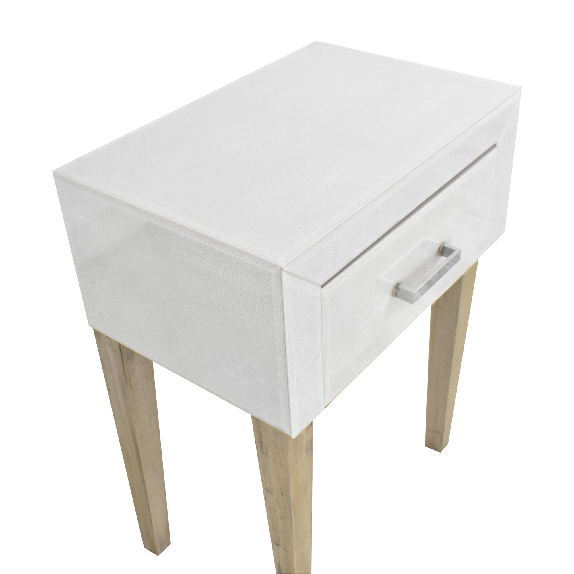 buy Creative Co-Op One Drawer End Table Creative Co-Op Tables