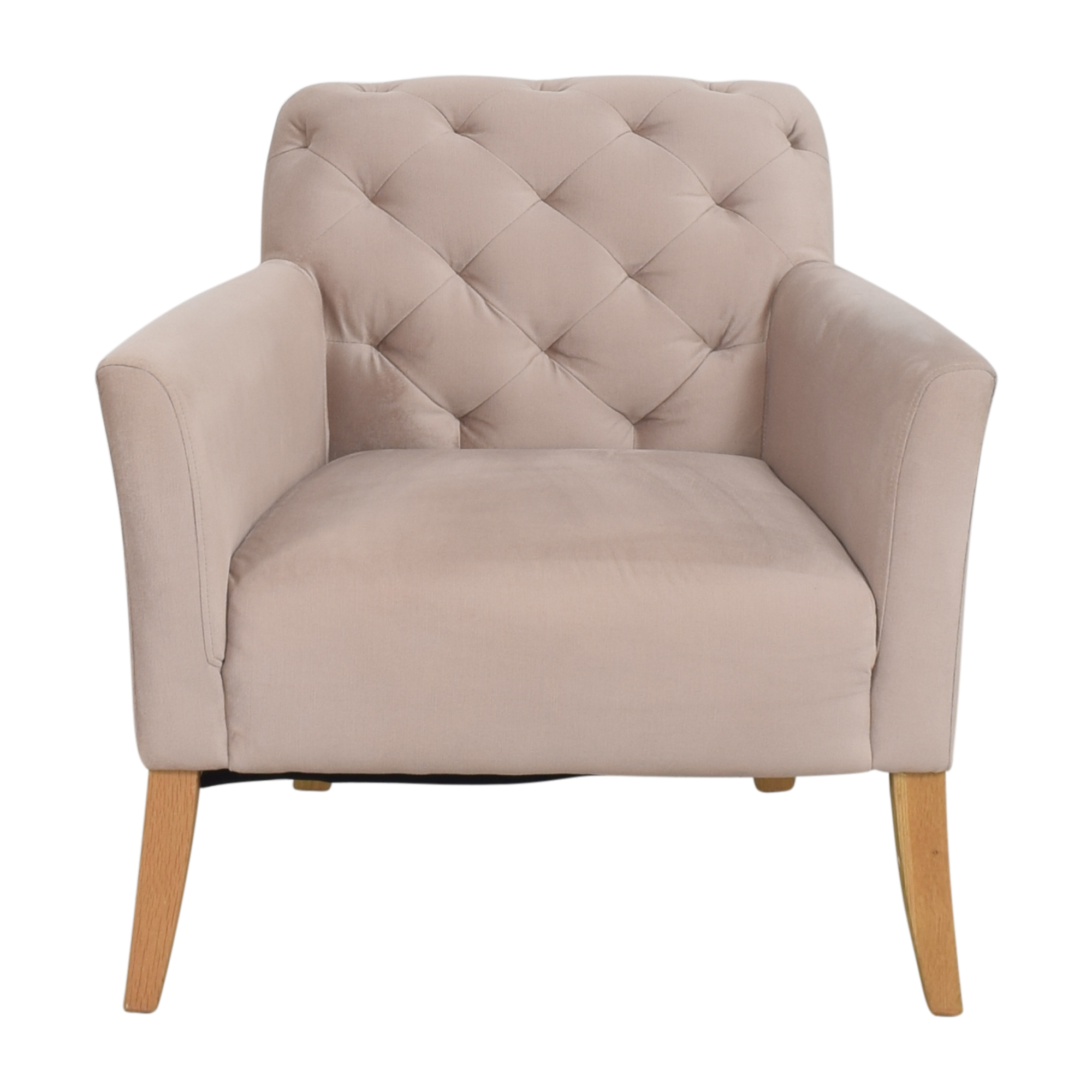 shop West Elm Elton Tufted Arm Chair West Elm Chairs