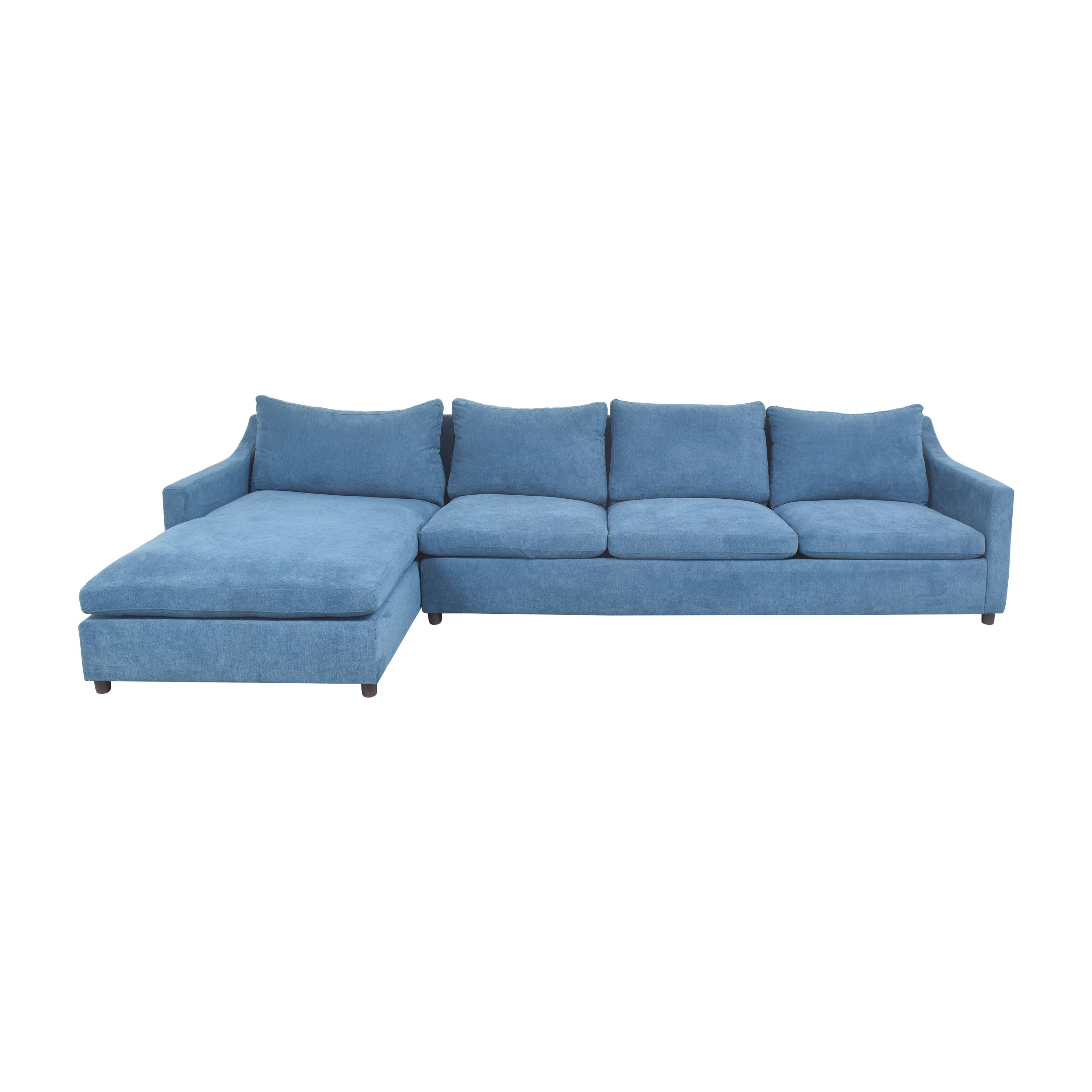 shop BenchMade Modern BenchMade Modern Johnny Homemaker Sectional Sofa with Chaise online