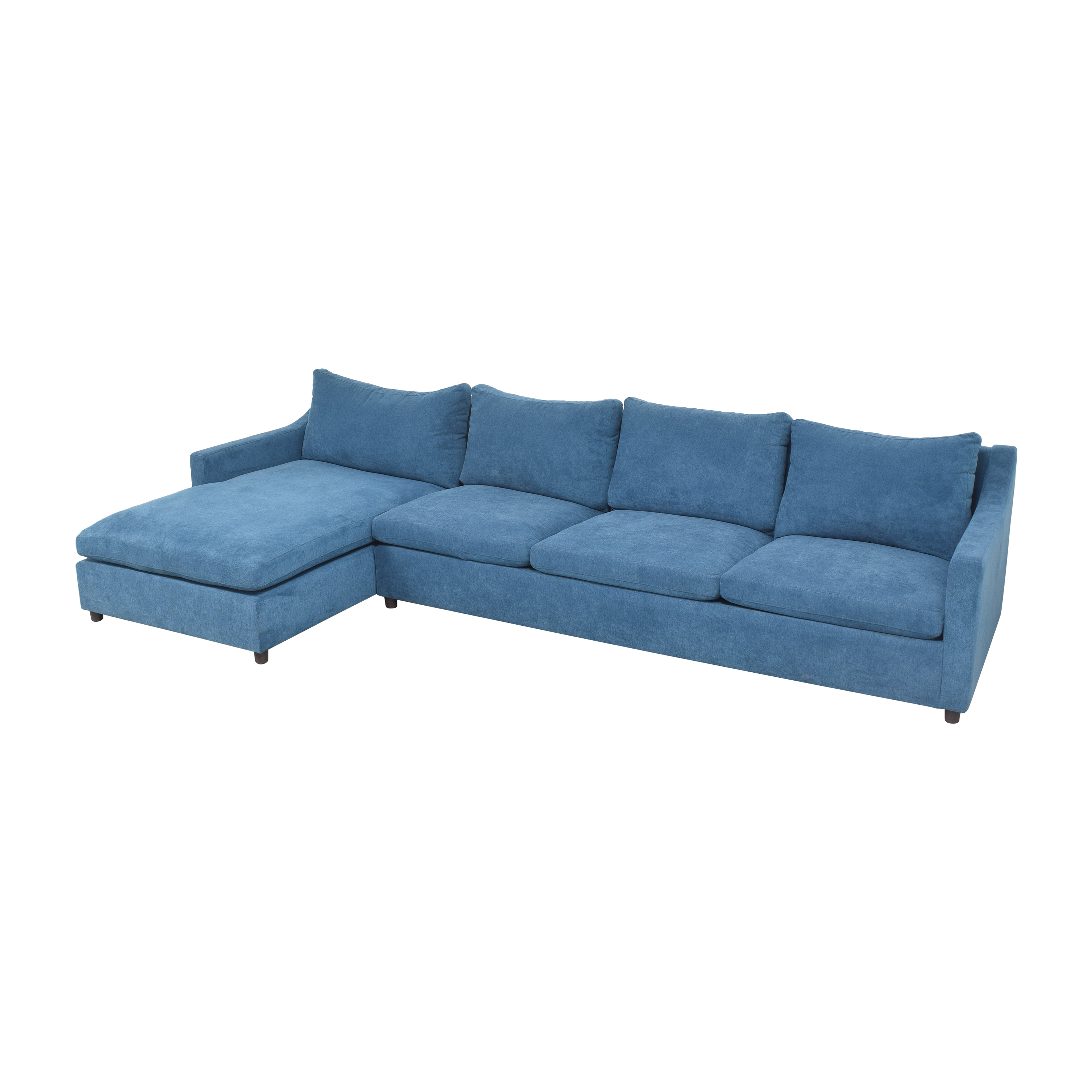 BenchMade Modern BenchMade Modern Johnny Homemaker Sectional Sofa with Chaise ct