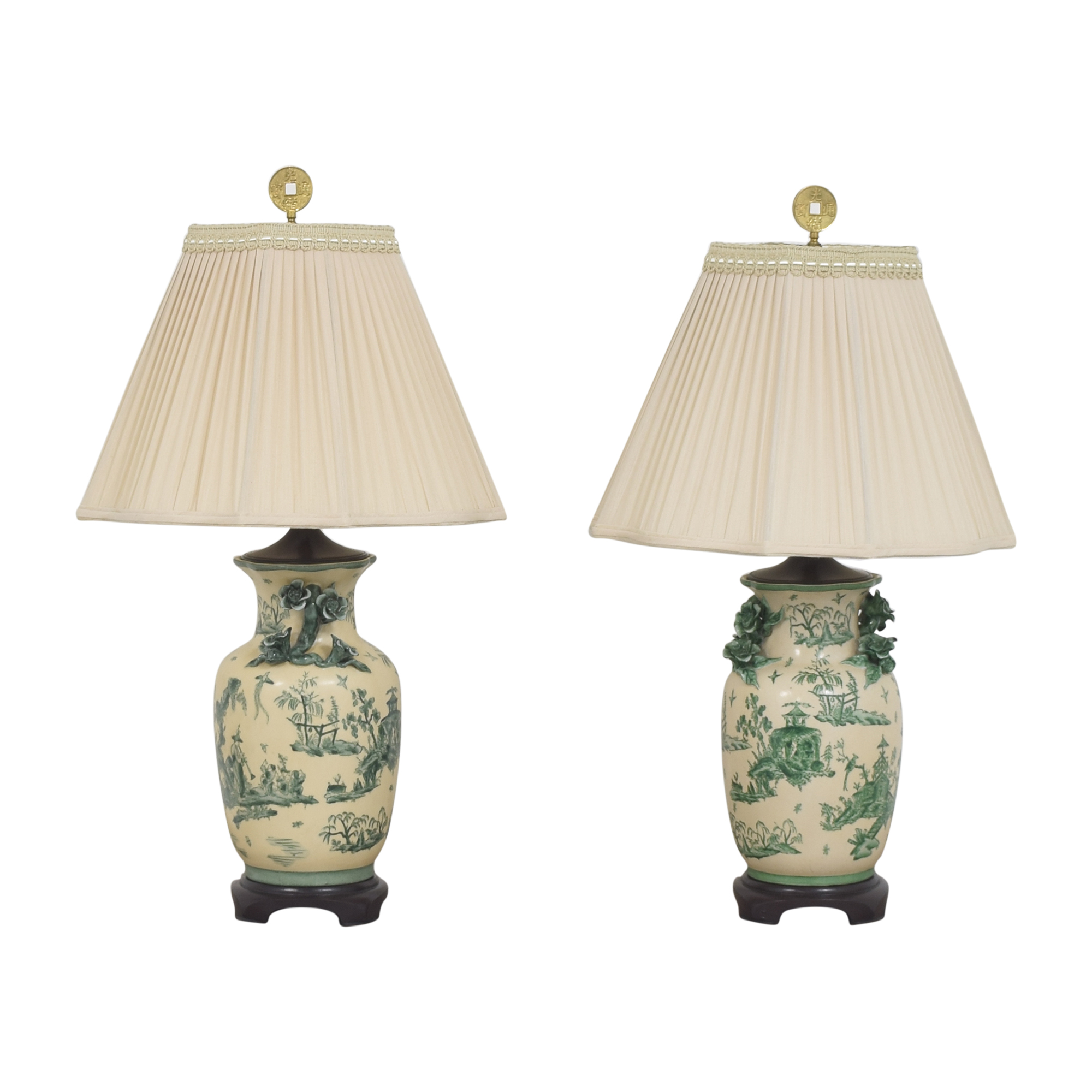The Bradburn Gallery The Bradburn Gallery Oriental Vase Table Lamps multi