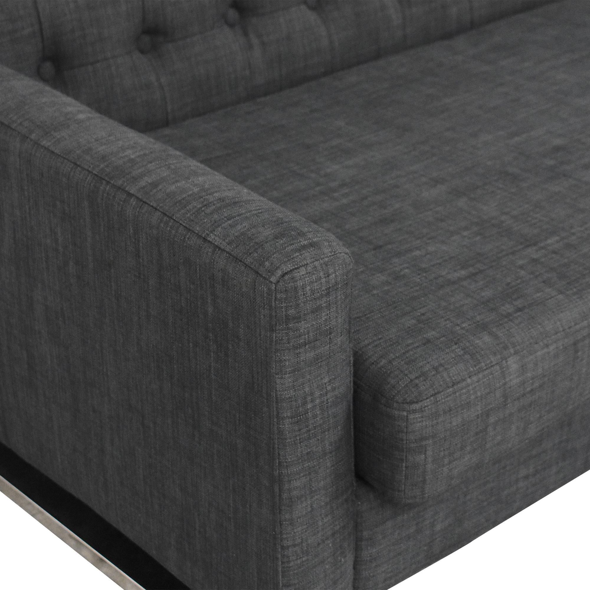 Pangea Home Pangea Home Nolan Right Arm Sectional Sofa pa