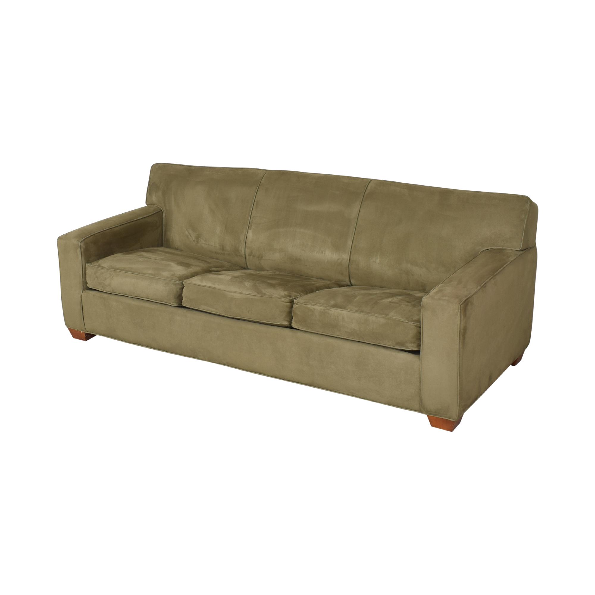 Crate & Barrel Crate & Barrel Three Cushion Sleeper Sofa  used