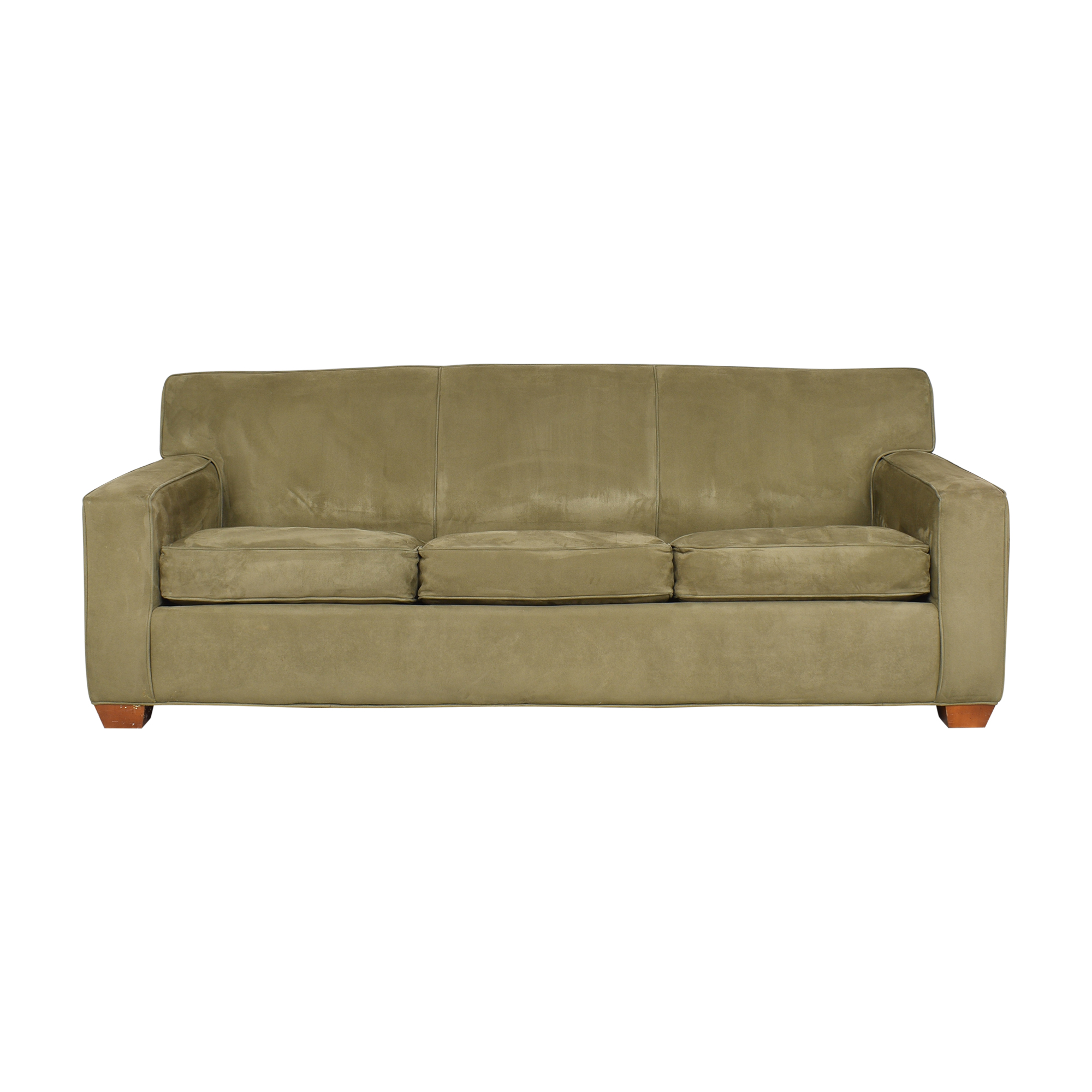 Crate & Barrel Crate & Barrel Three Cushion Sleeper Sofa  coupon