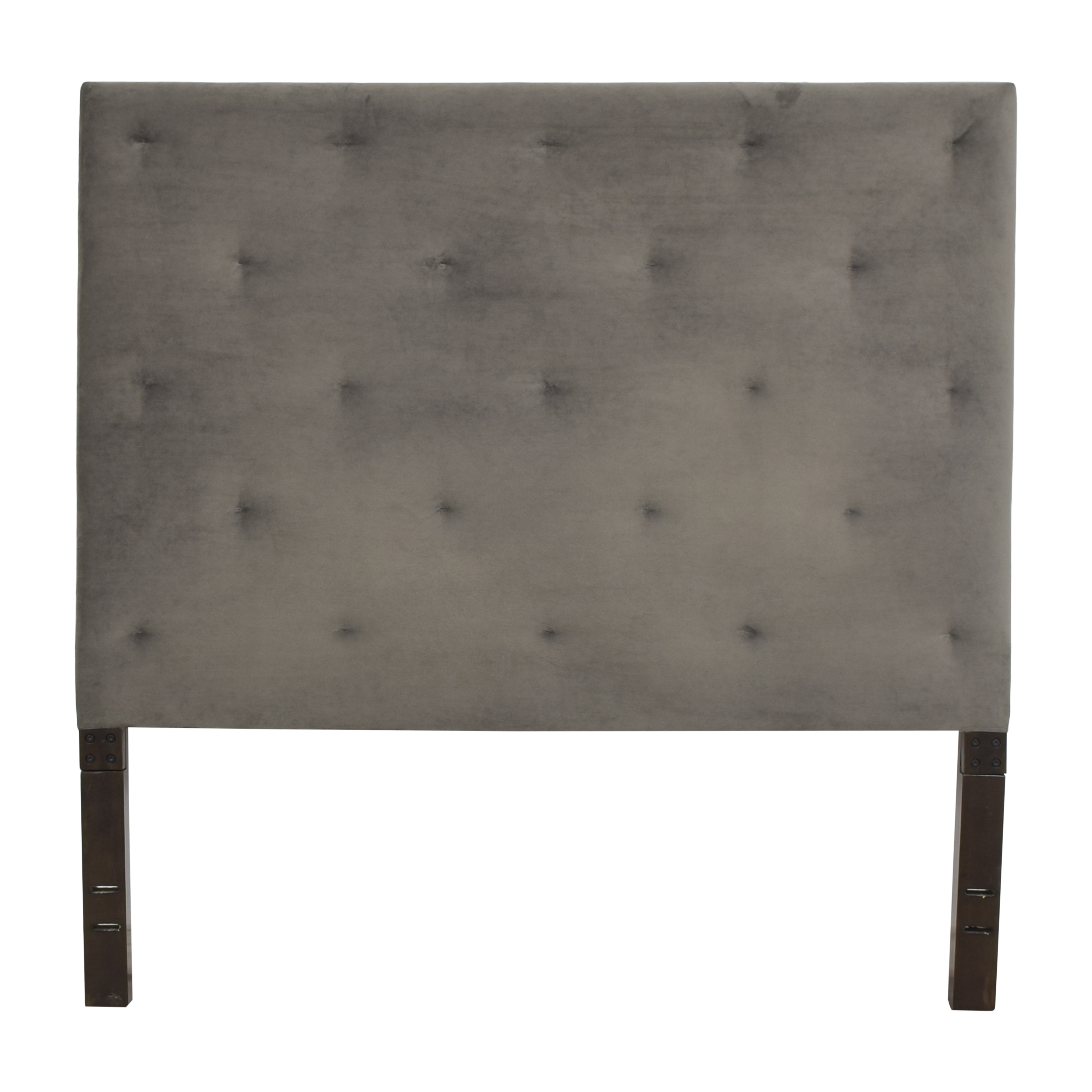 shop West Elm Diamond Tufted Queen Headboard West Elm