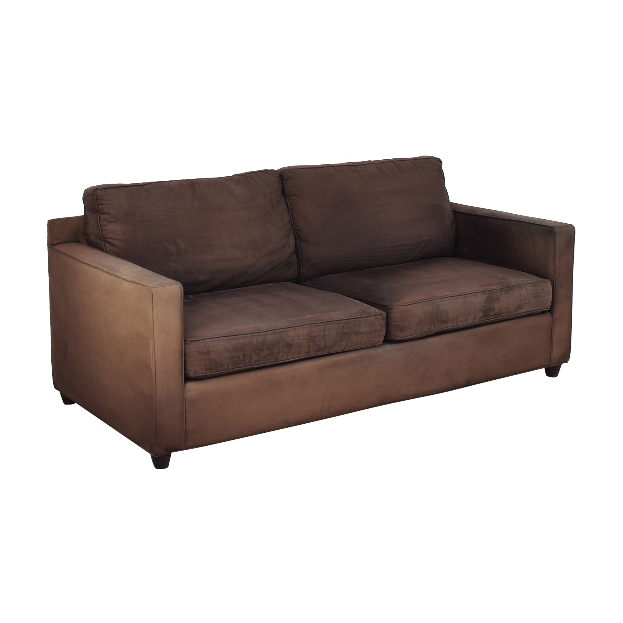 Crate & Barrel Barrett Two Cushion Sofa / Sofas