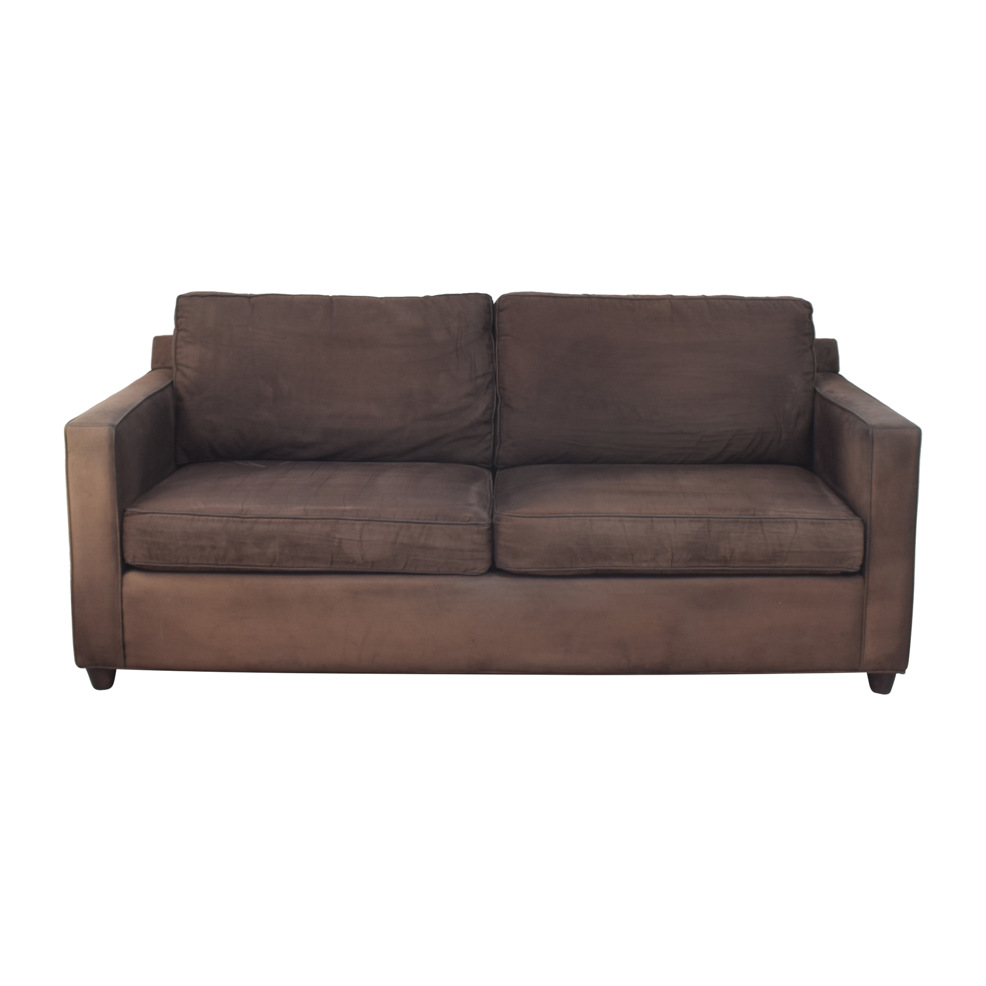 shop Crate & Barrel Crate & Barrel Barrett Two Cushion Sofa online