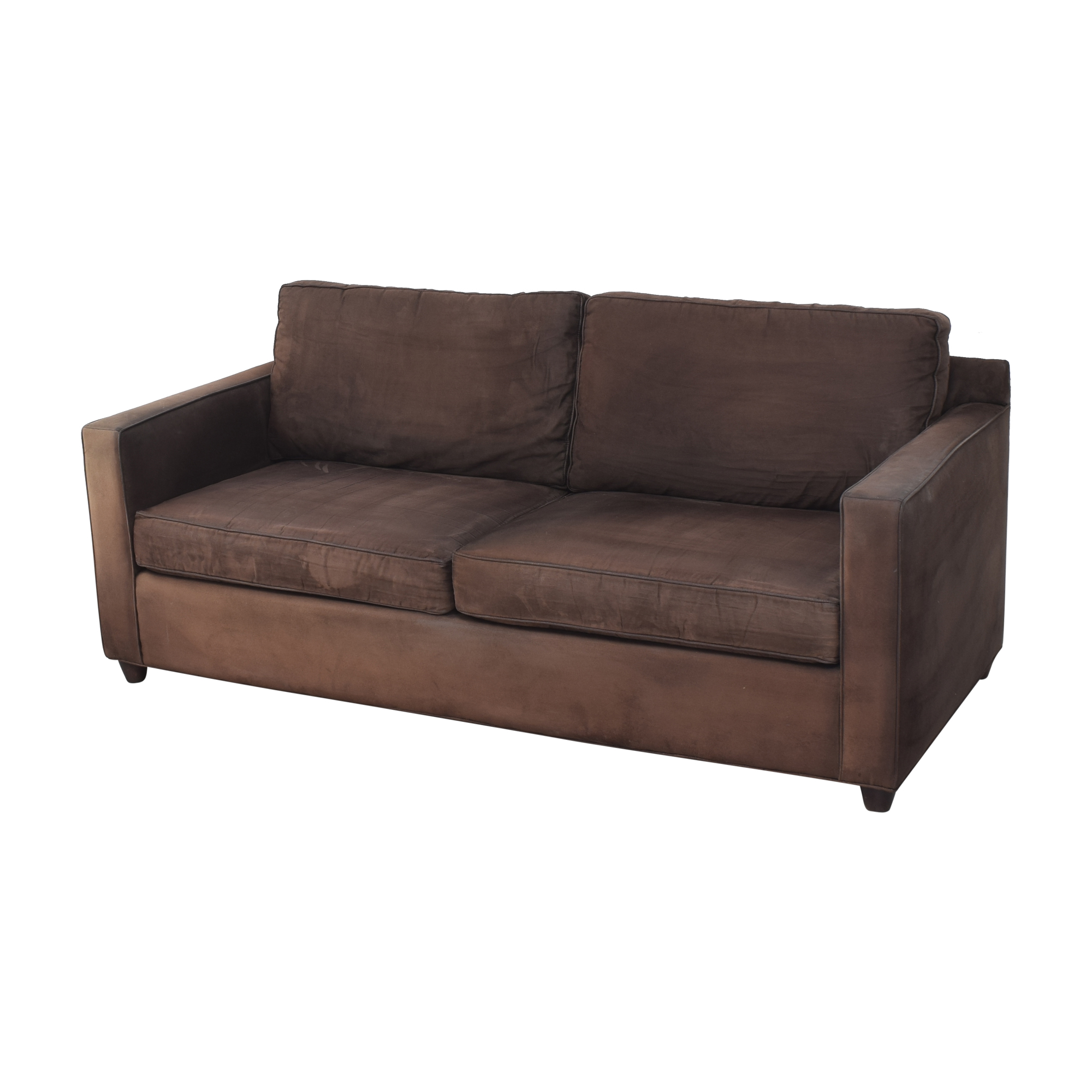 Crate & Barrel Barrett Two Cushion Sofa sale