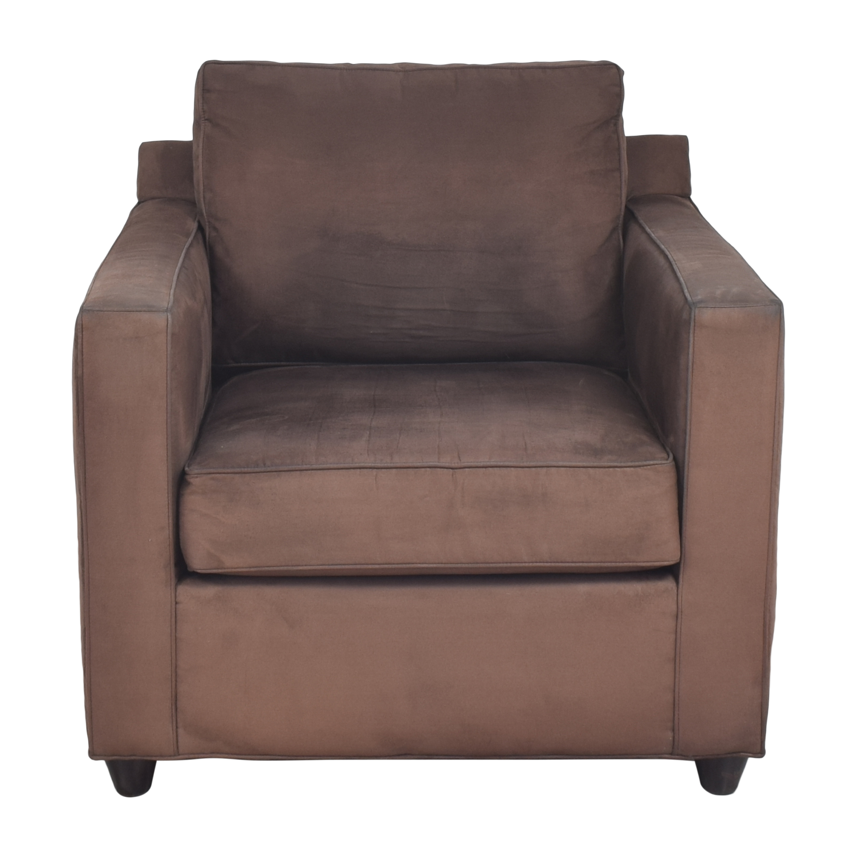 Crate & Barrel Crate & Barrel Barrett Track Arm Chair Chairs
