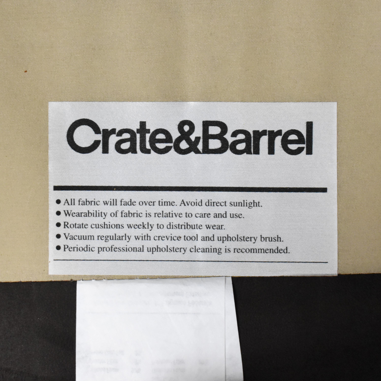 buy Crate & Barrel Crate & Barrel Barrett Track Arm Chair online