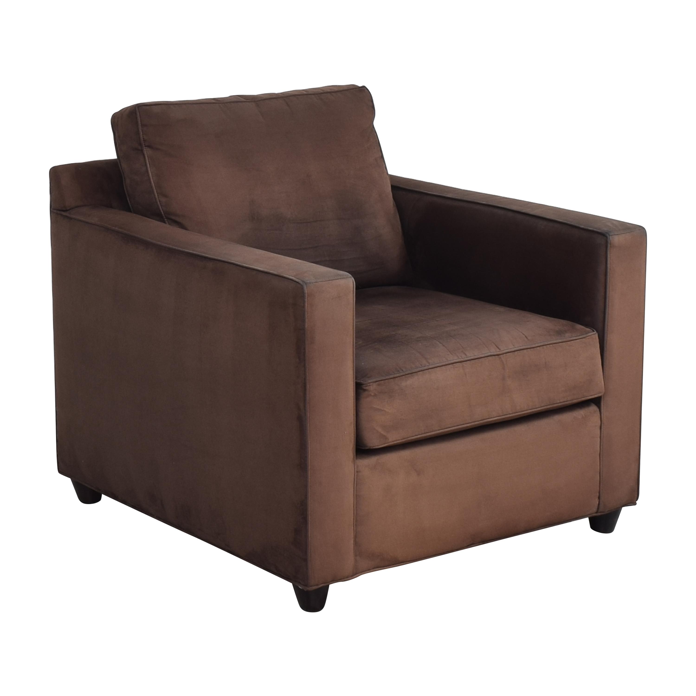 buy Crate & Barrel Barrett Track Arm Chair Crate & Barrel