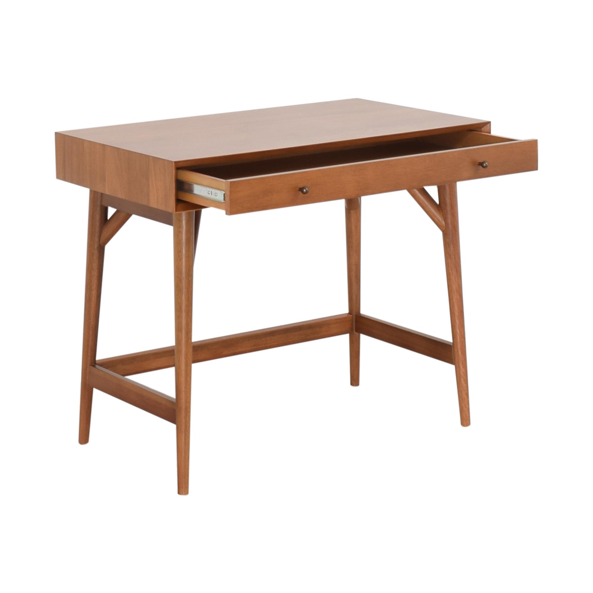 shop West Elm Mid Century Mini Desk West Elm Tables