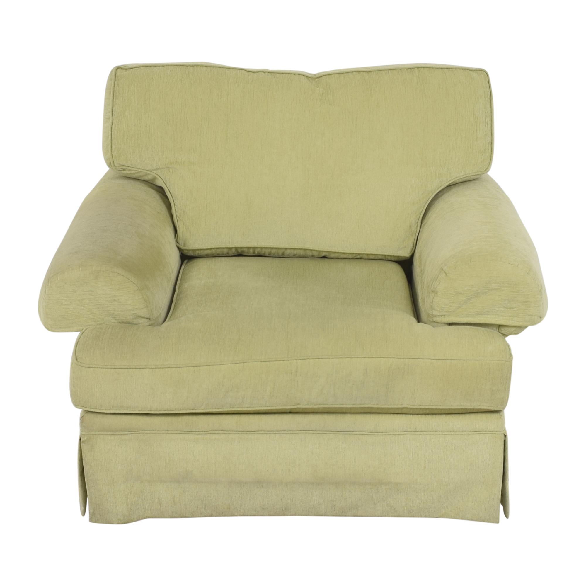 Flexsteel Flexsteel Skirted Chair and a Half used