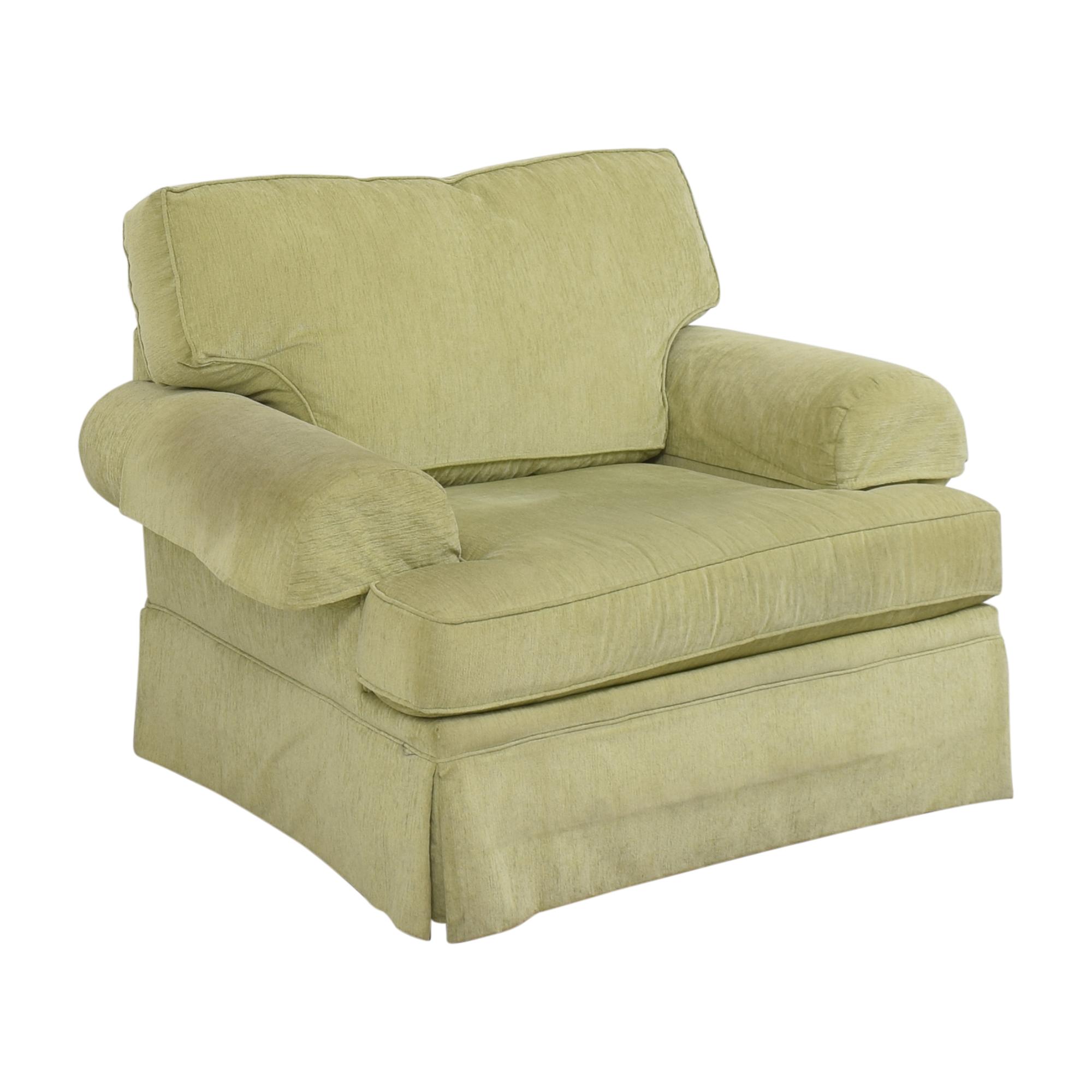 Flexsteel Flexsteel Skirted Chair and a Half