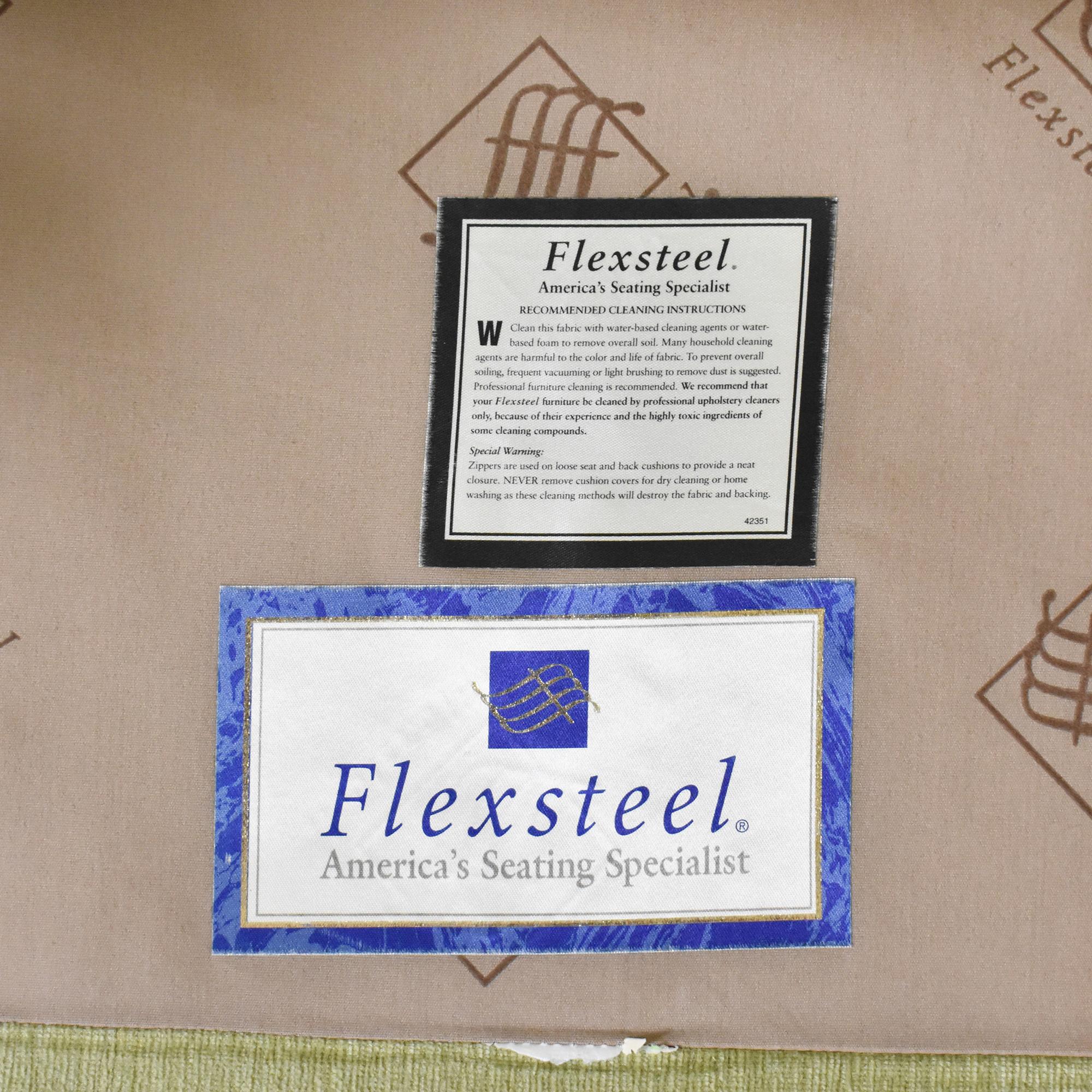 Flexsteel Flexsteel Skirted Chair and a Half nyc