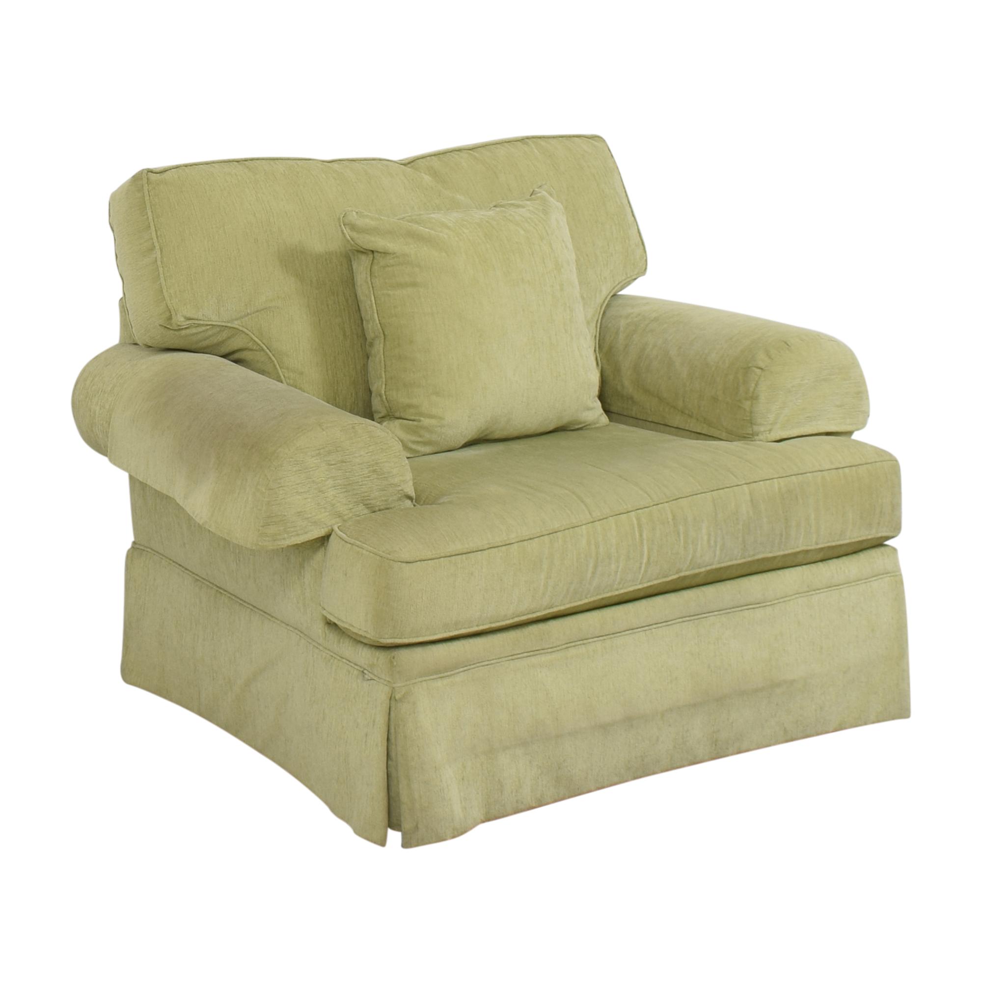 Flexsteel Flexsteel Skirted Chair and a Half pa