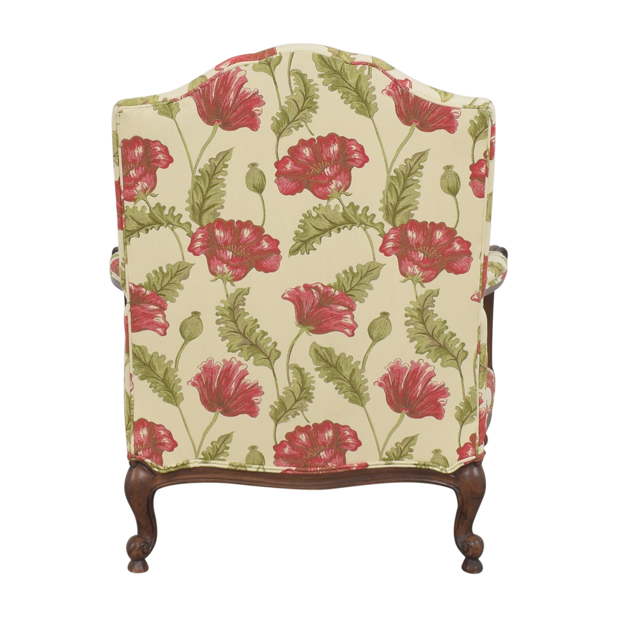 buy Clayton Marcus Floral Chair with Ottoman Clayton Marcus Accent Chairs
