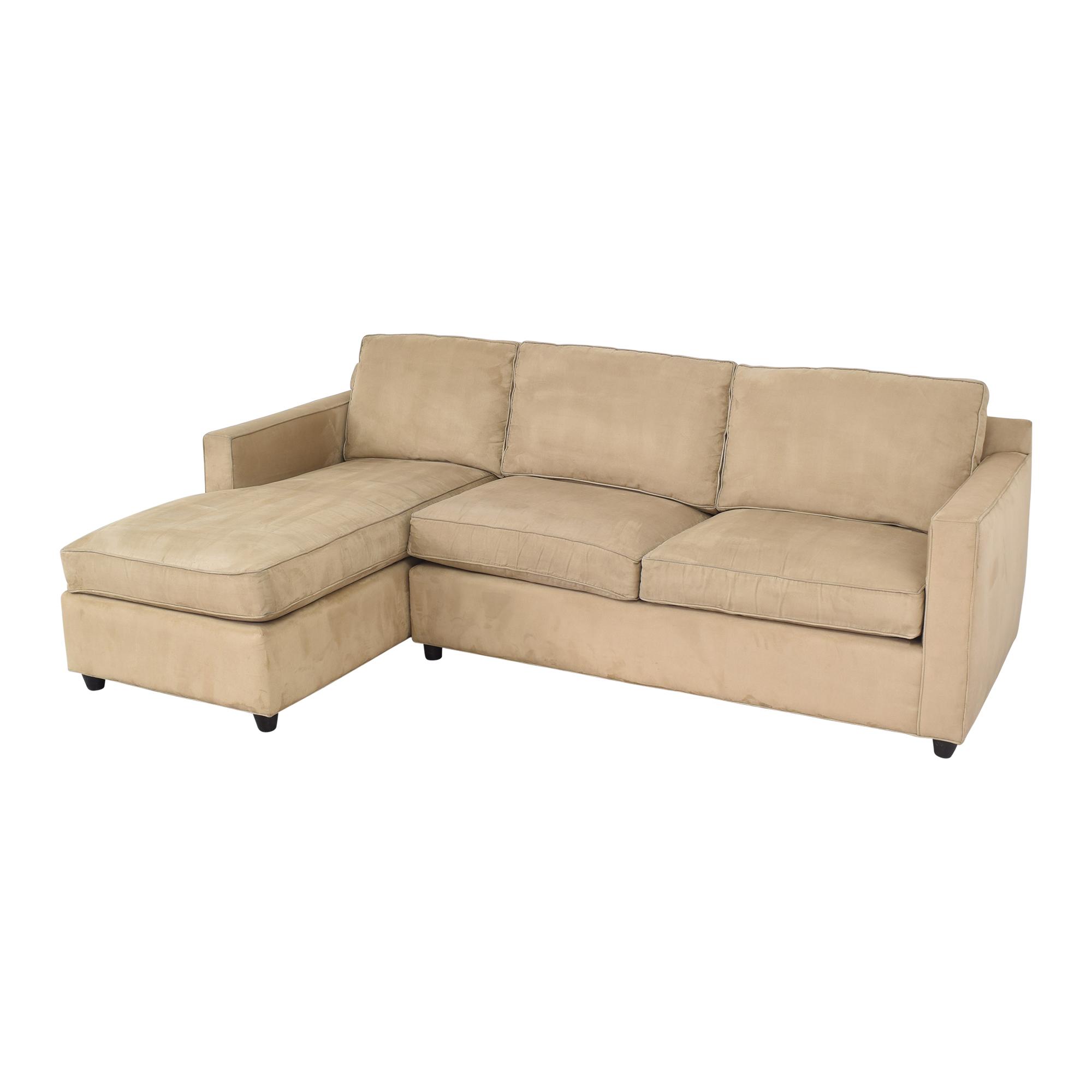 Crate & Barrel Crate & Barrel Barrett Chaise Sectional Sofa Sofas