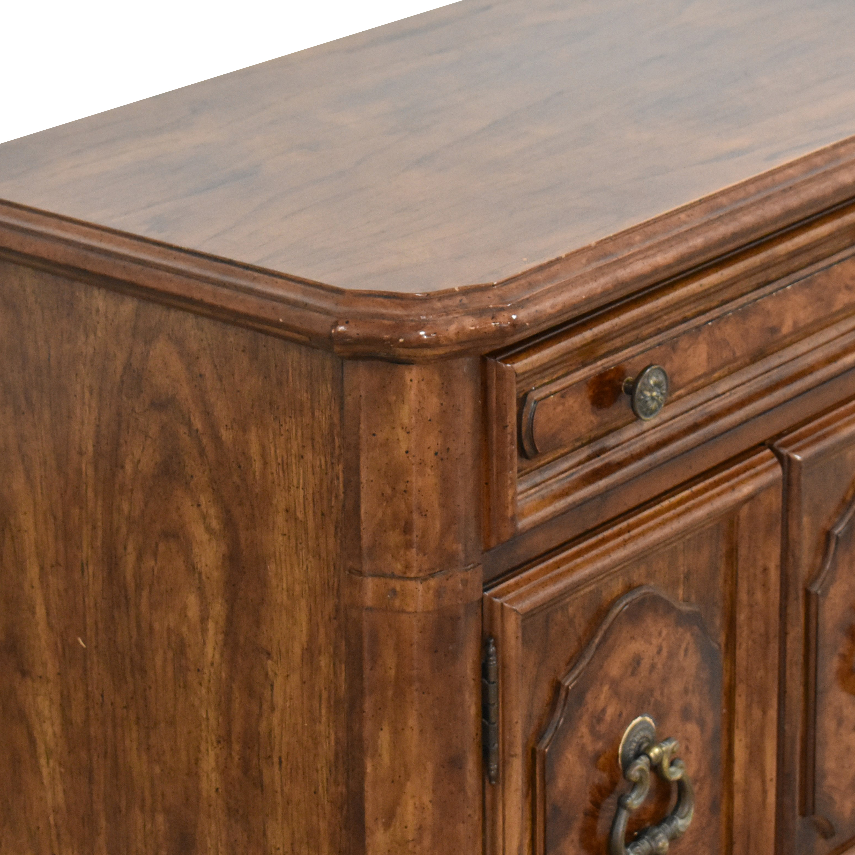 Stanley Furniture Stanley Furniture Two Door Nightstand Tables