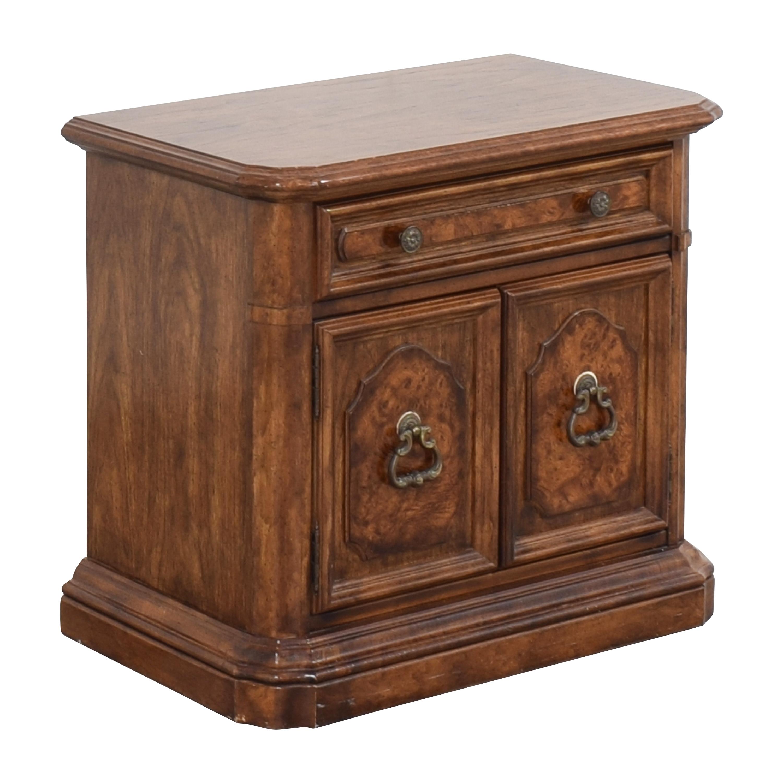 Stanley Furniture Two Door Nightstand sale