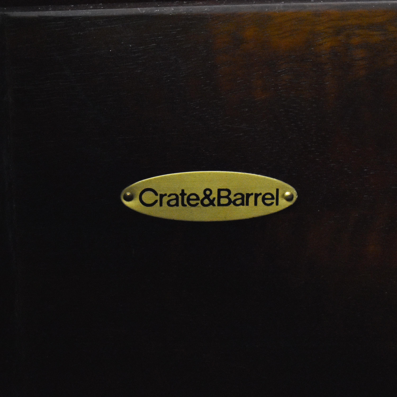 Crate & Barrel Crate & Barrel Two Door Buffet Sideboard second hand