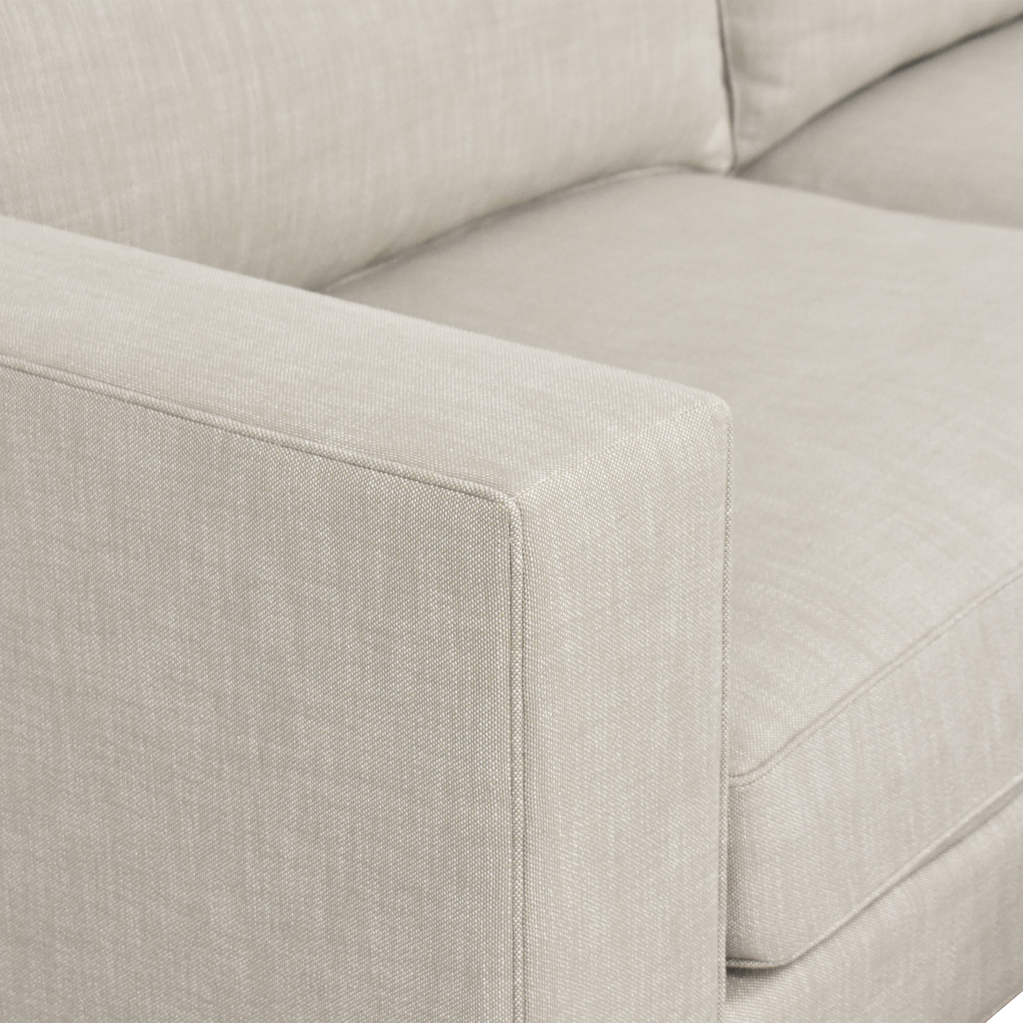 Restoration Hardware Restoration Hardware Maddox Sofa with Ottoman price