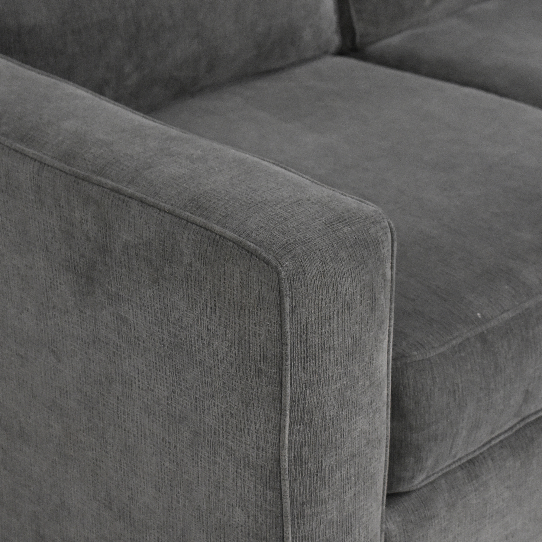 Macy's Macy's Three Cushion Sofa ma