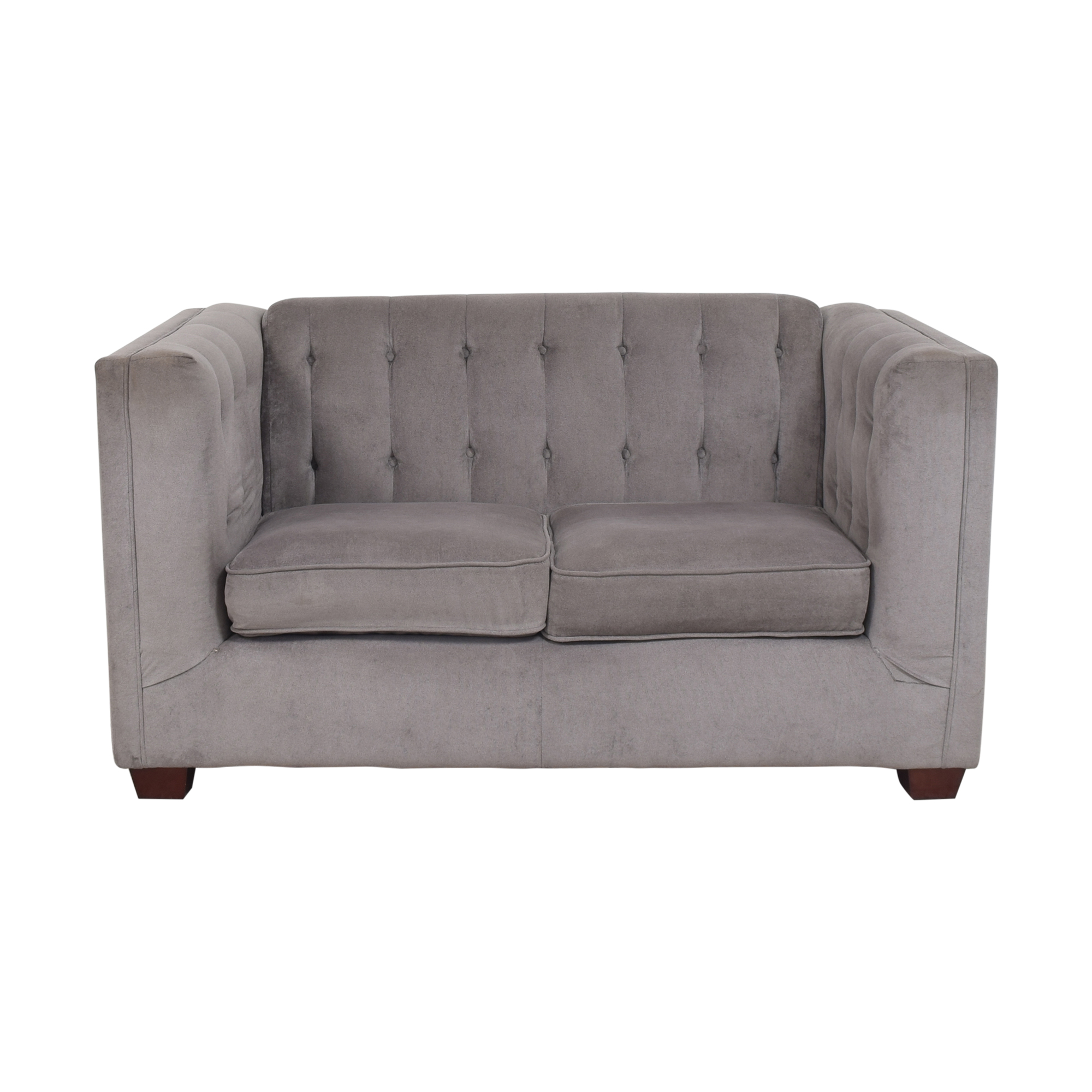 shop Coaster Cairns Tufted Loveseat  Coaster Fine Furniture Sofas