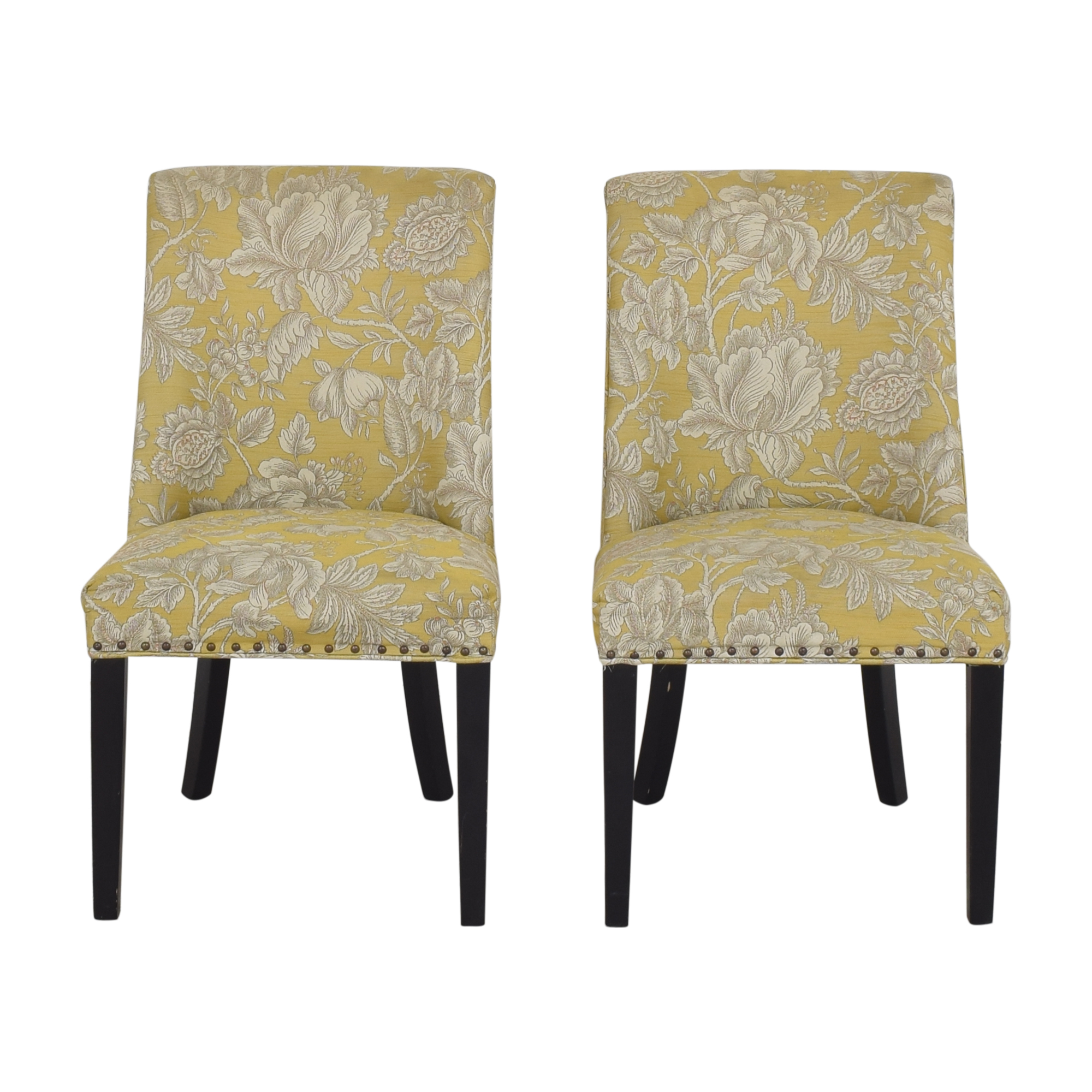 Pier 1 Pier 1 Corinne Floral Dining Chairs dimensions