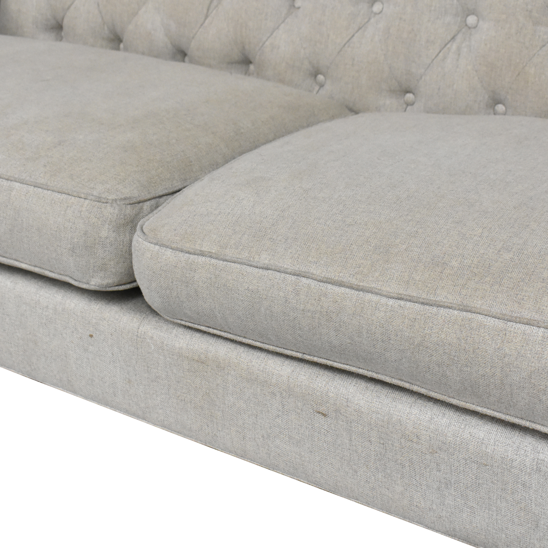 buy ABC Carpet & Home Tufted High Back Sofa ABC Carpet & Home
