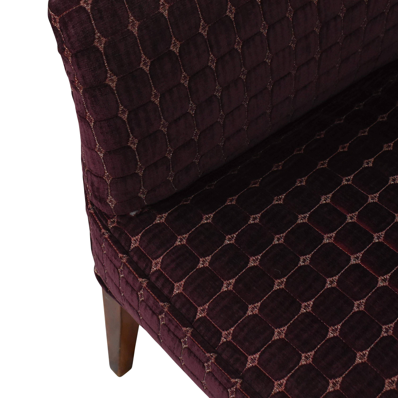 shop Upholstered Shelter Arm Loveseat  Sofas