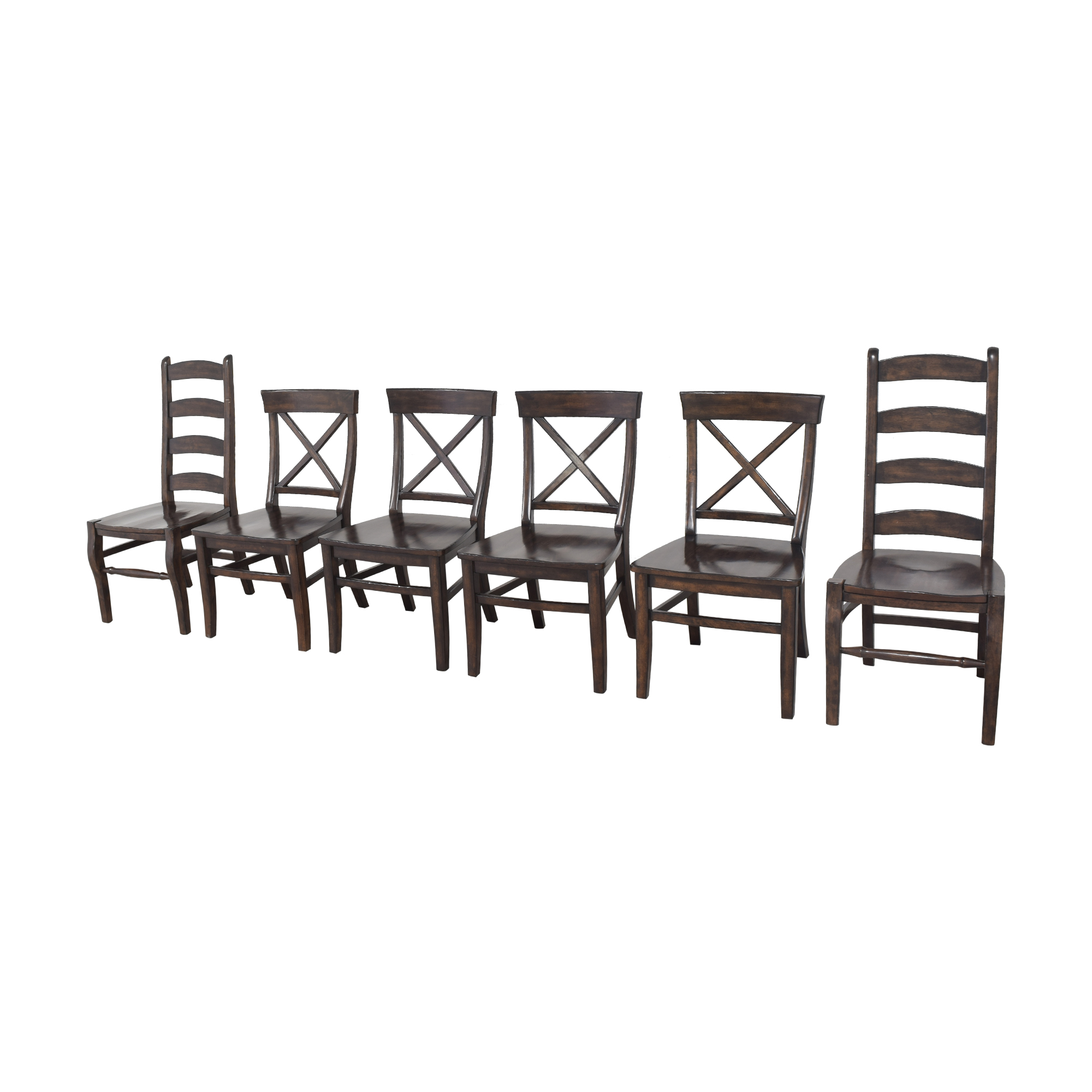 Pottery Barn Pottery Barn Aaron and Wynn Ladderback Dining Chairs nyc